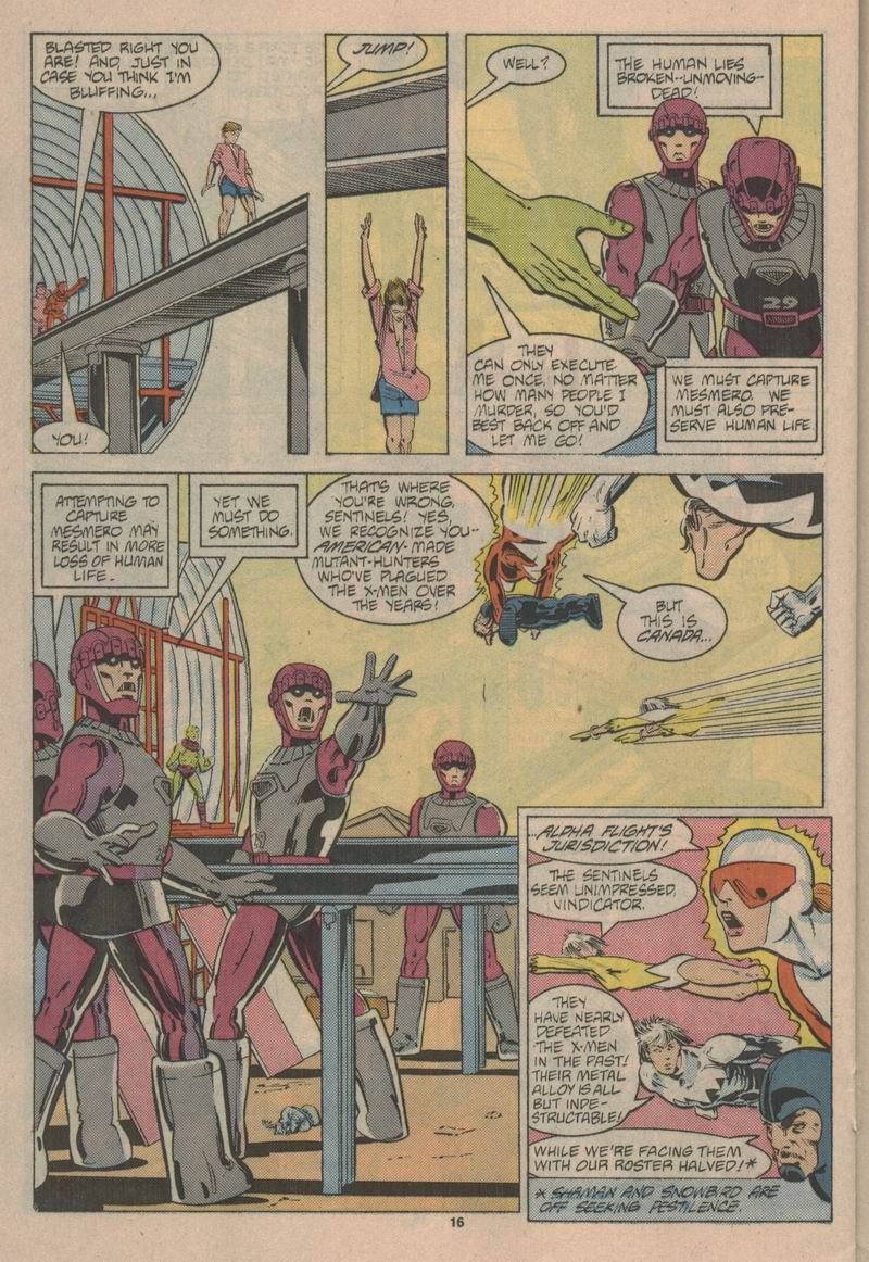Read online Alpha Flight (1983) comic -  Issue #43 - 17