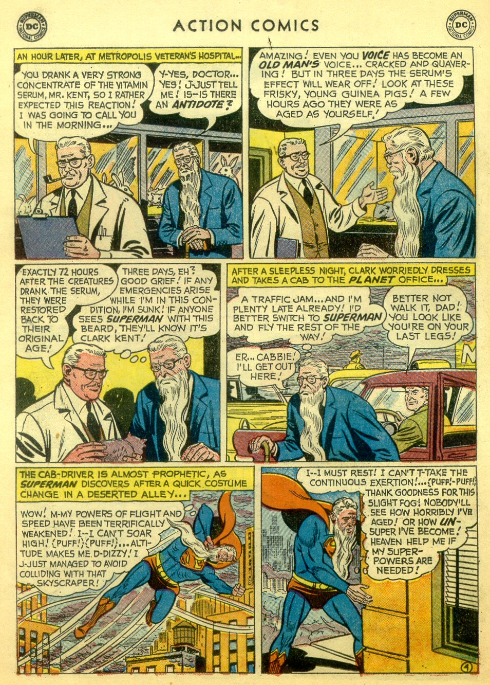 Read online Action Comics (1938) comic -  Issue #251 - 6
