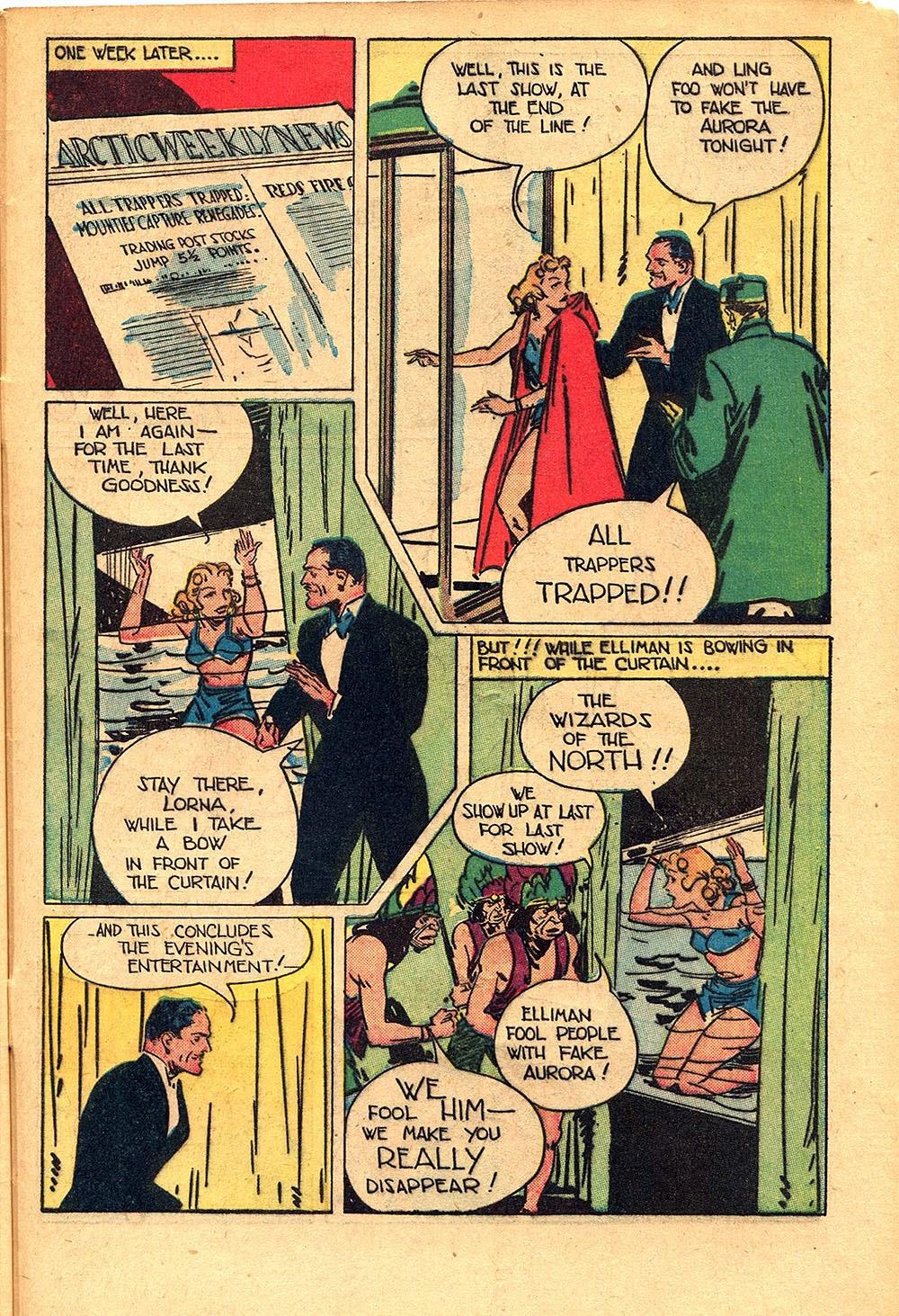 Read online Super-Magician Comics comic -  Issue #55 - 45
