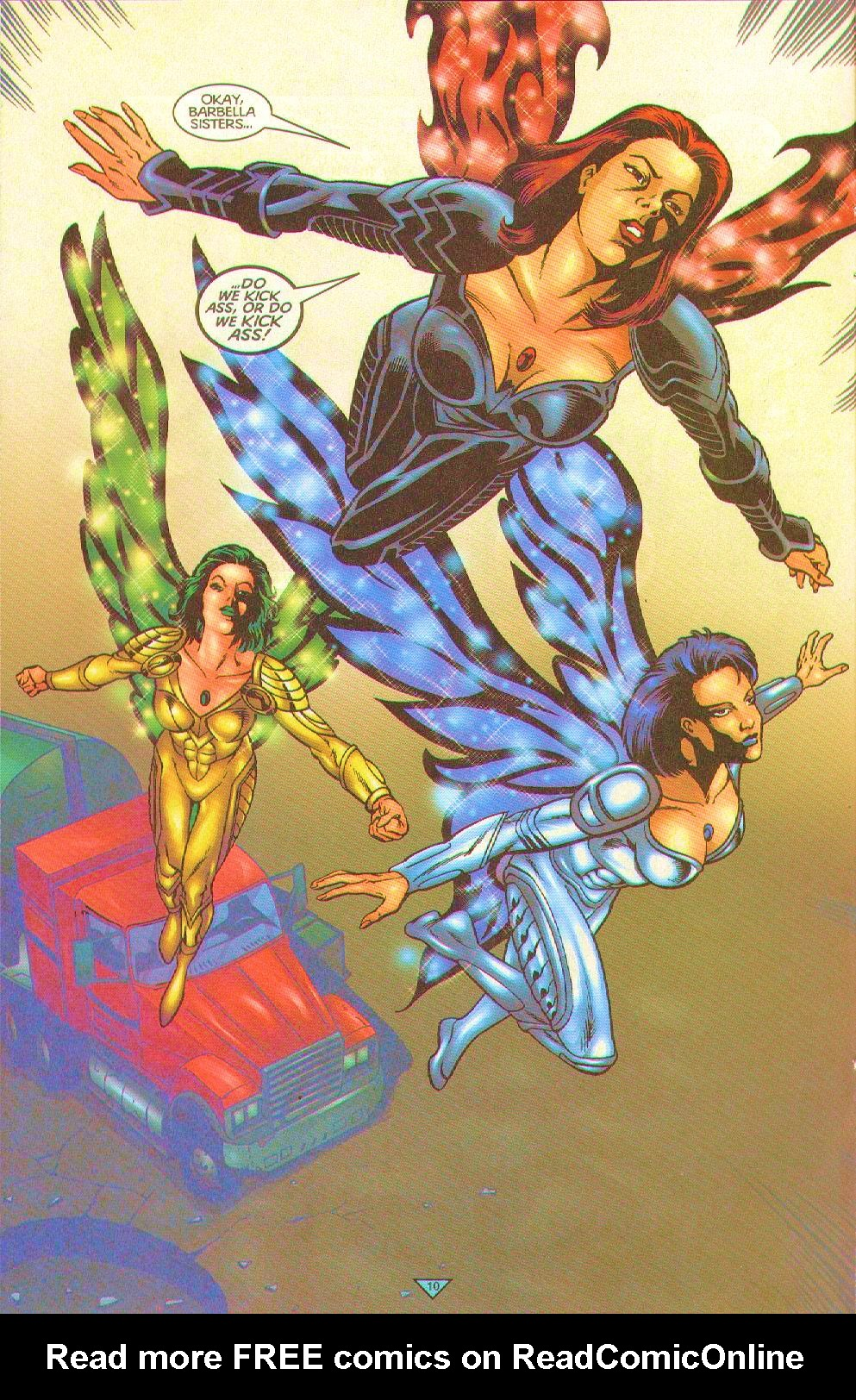 Read online Trinity Angels comic -  Issue #12 - 10