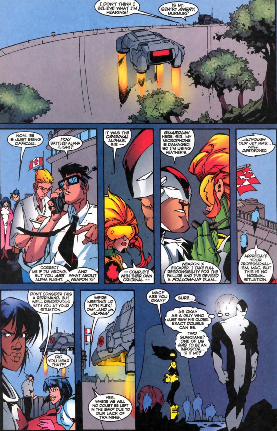 Read online Alpha Flight (1997) comic -  Issue #19 - 17