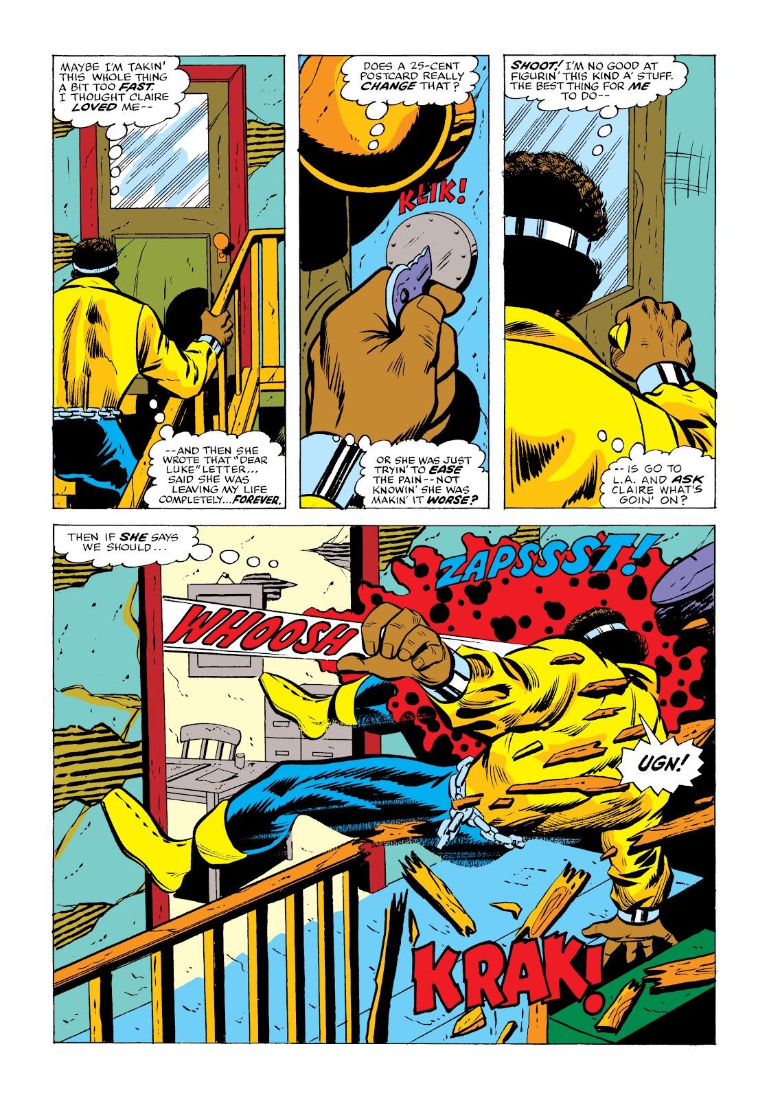 Read online Marvel Masterworks: Luke Cage, Power Man comic -  Issue # TPB 2 (Part 2) - 10