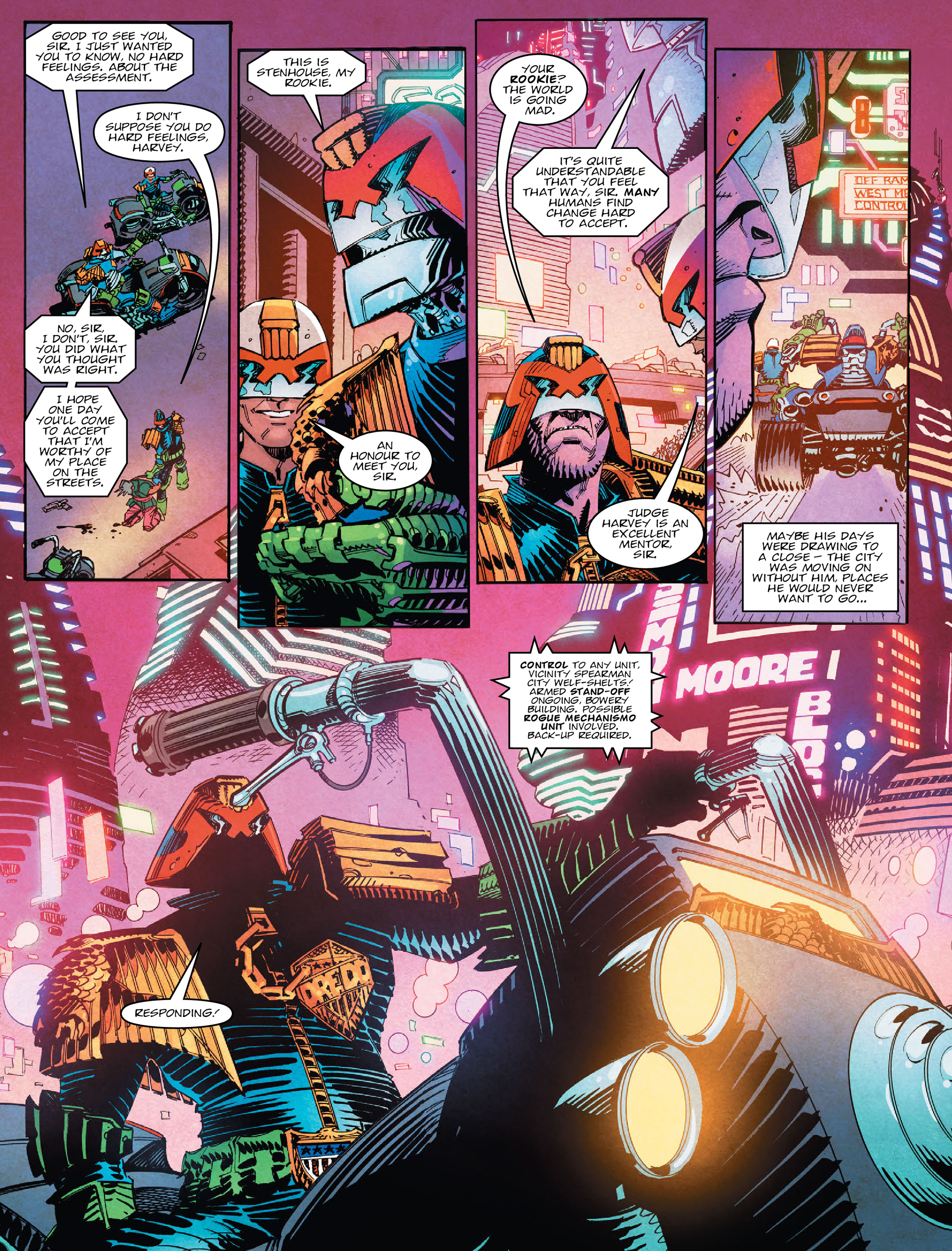 Read online 2000 AD comic -  Issue #2028 - 7