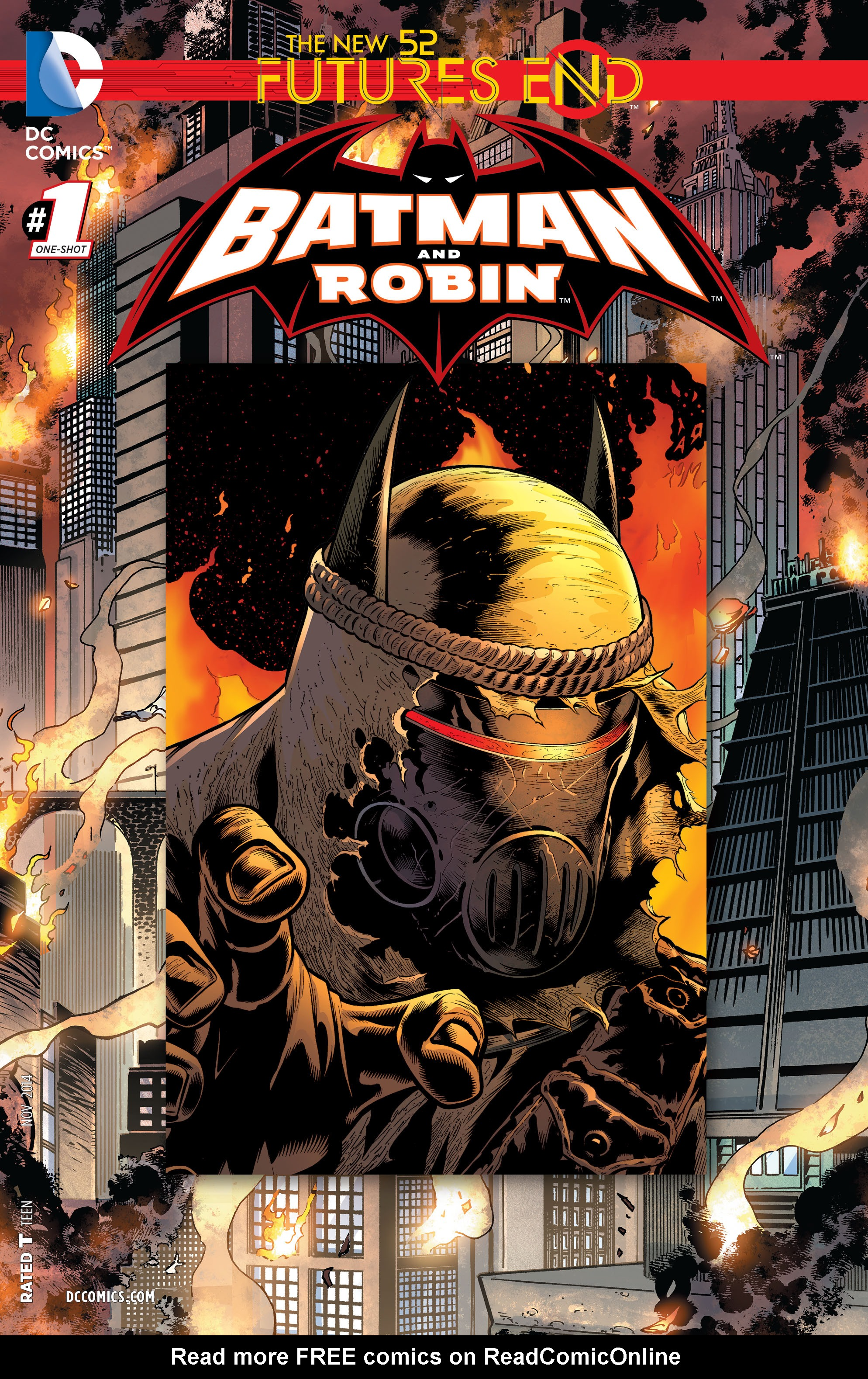 Batman and Robin: Futures End Full Page 1