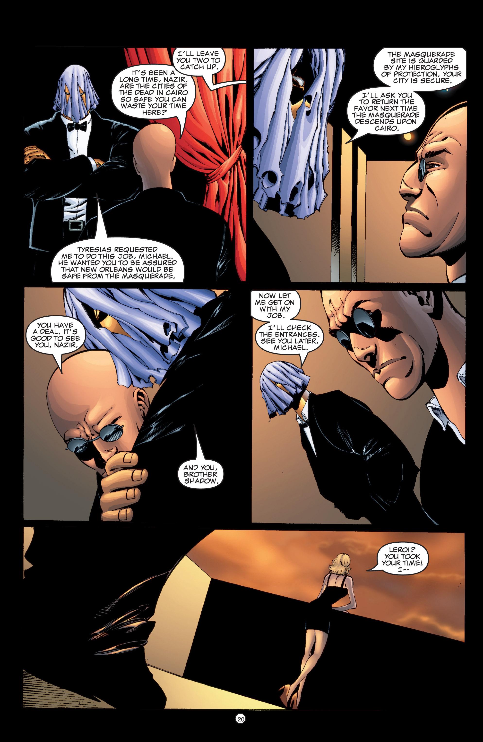 Read online Shadowman (1999) comic -  Issue #6 - 21