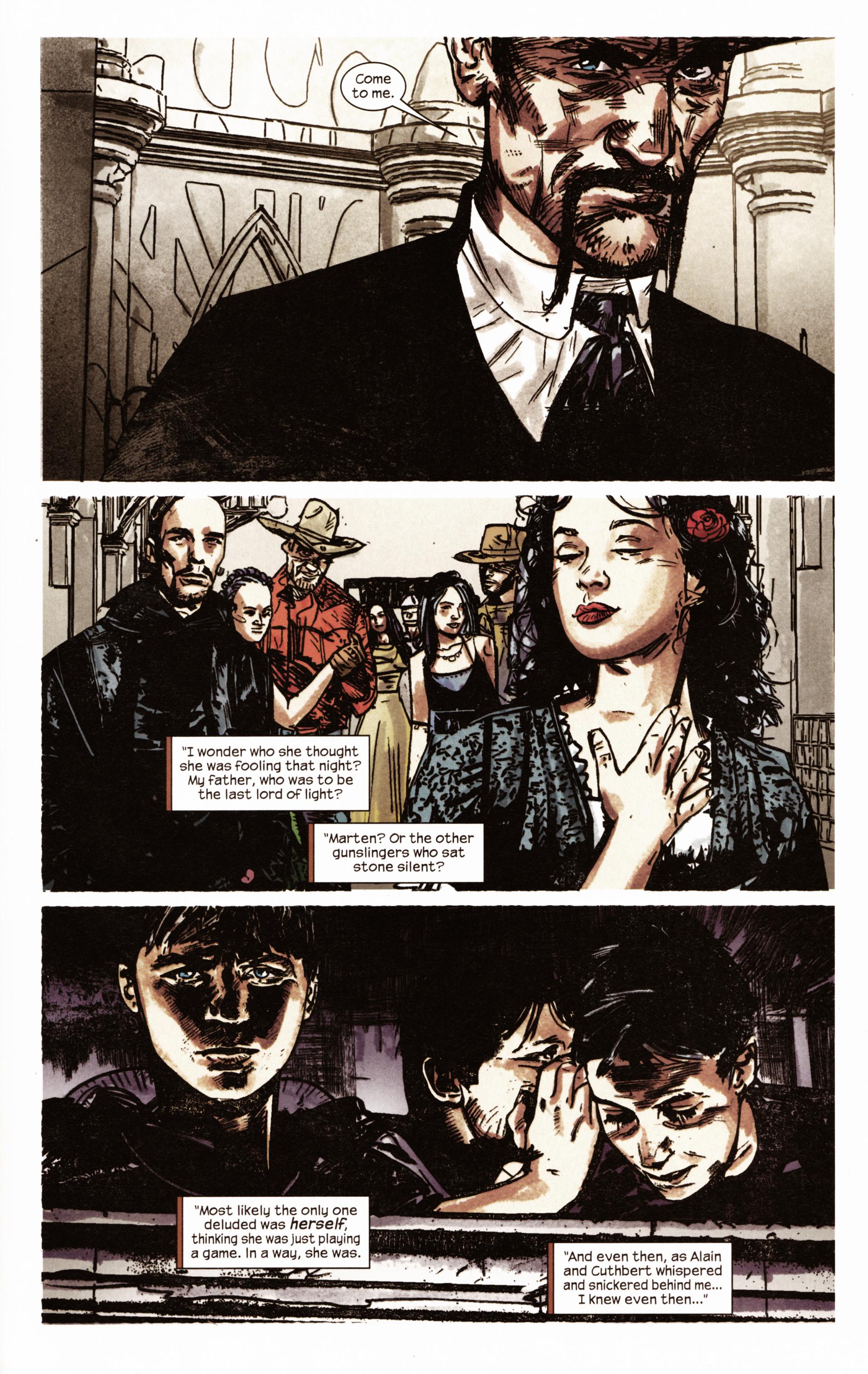 Read online Dark Tower: The Gunslinger - The Man in Black comic -  Issue #2 - 20