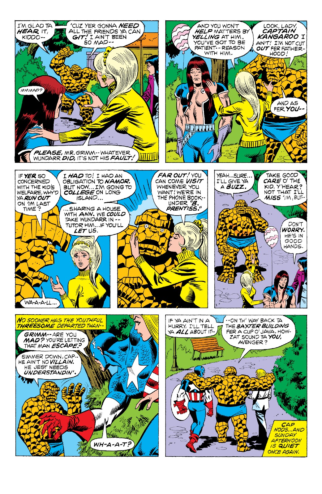 Read online Marvel Two-In-One Epic Collection: Cry Monster comic -  Issue # TPB (Part 2) - 12