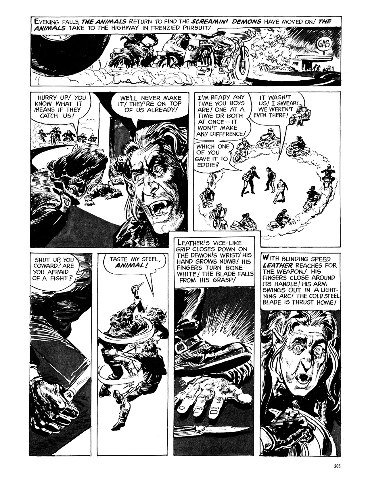 Read online Eerie Archives comic -  Issue # TPB 5 - 206