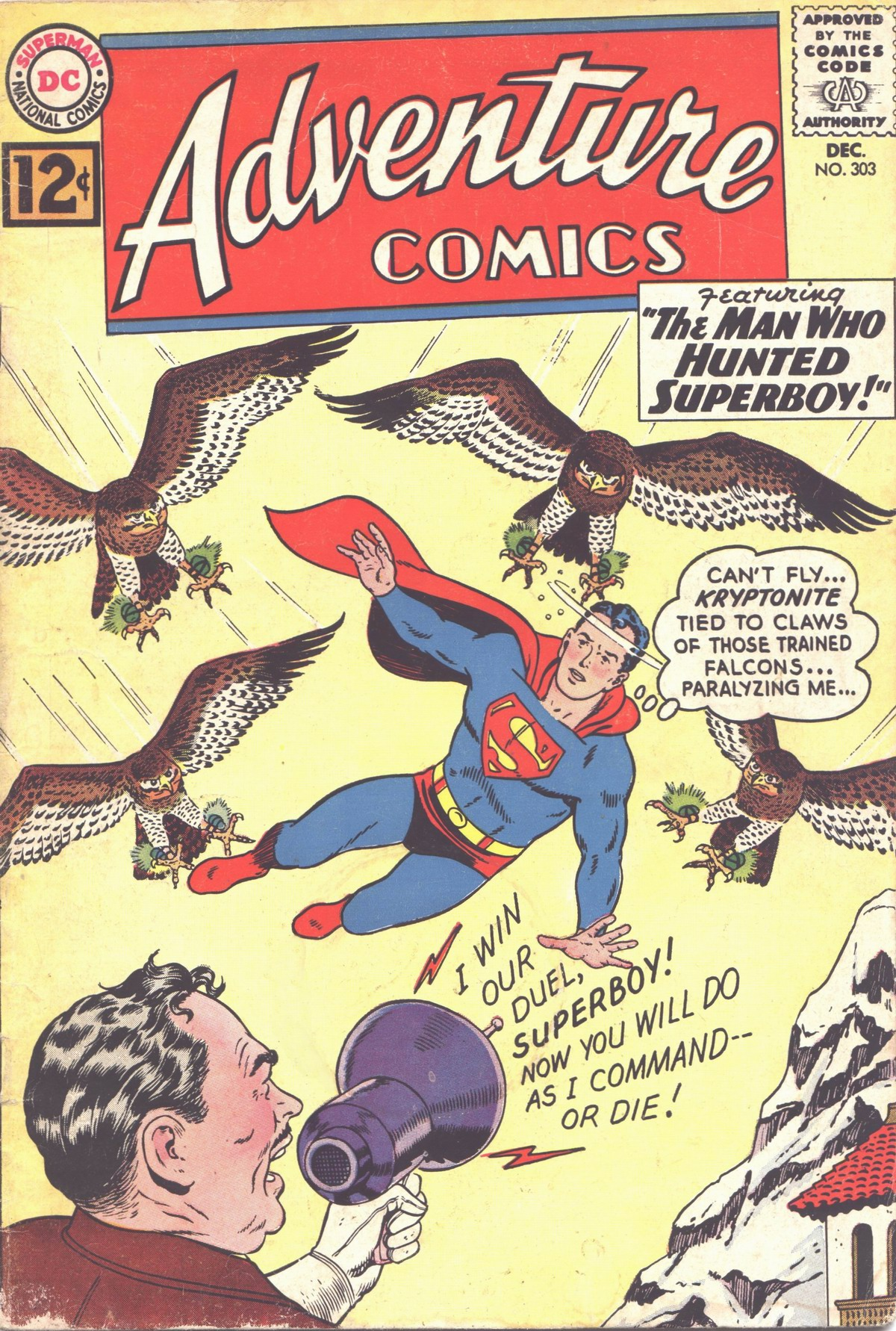 Read online Adventure Comics (1938) comic -  Issue #303 - 1