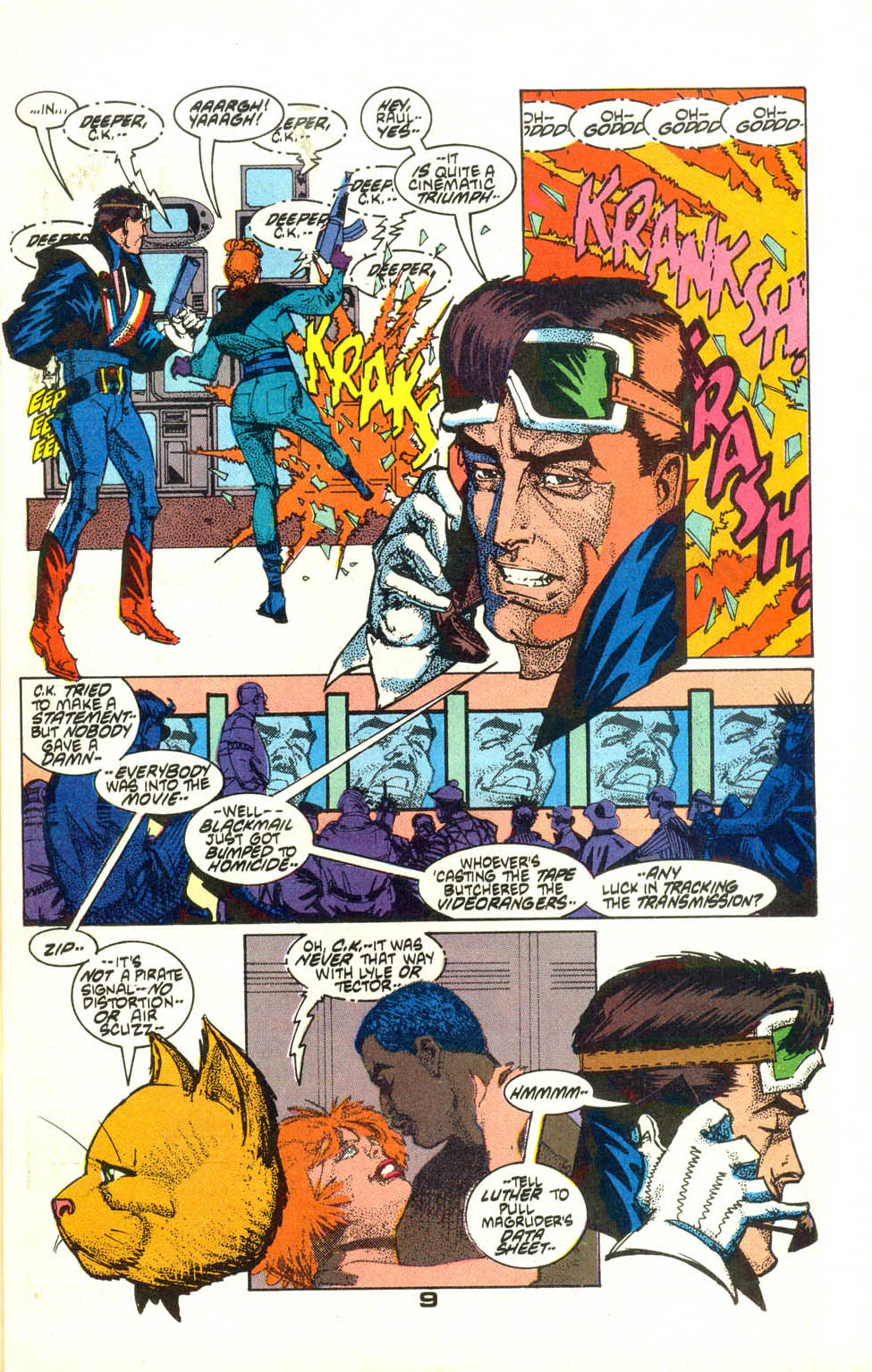 Read online American Flagg! comic -  Issue #22 - 11