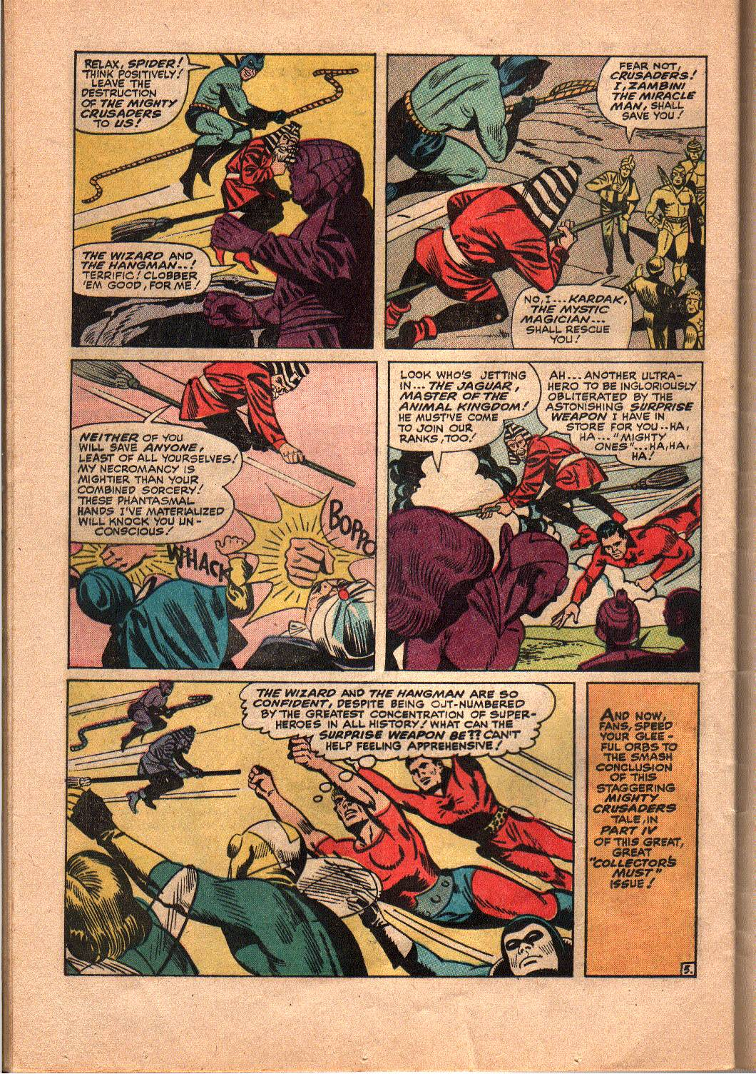 The Mighty Crusaders (1965) Issue #4 #4 - English 20