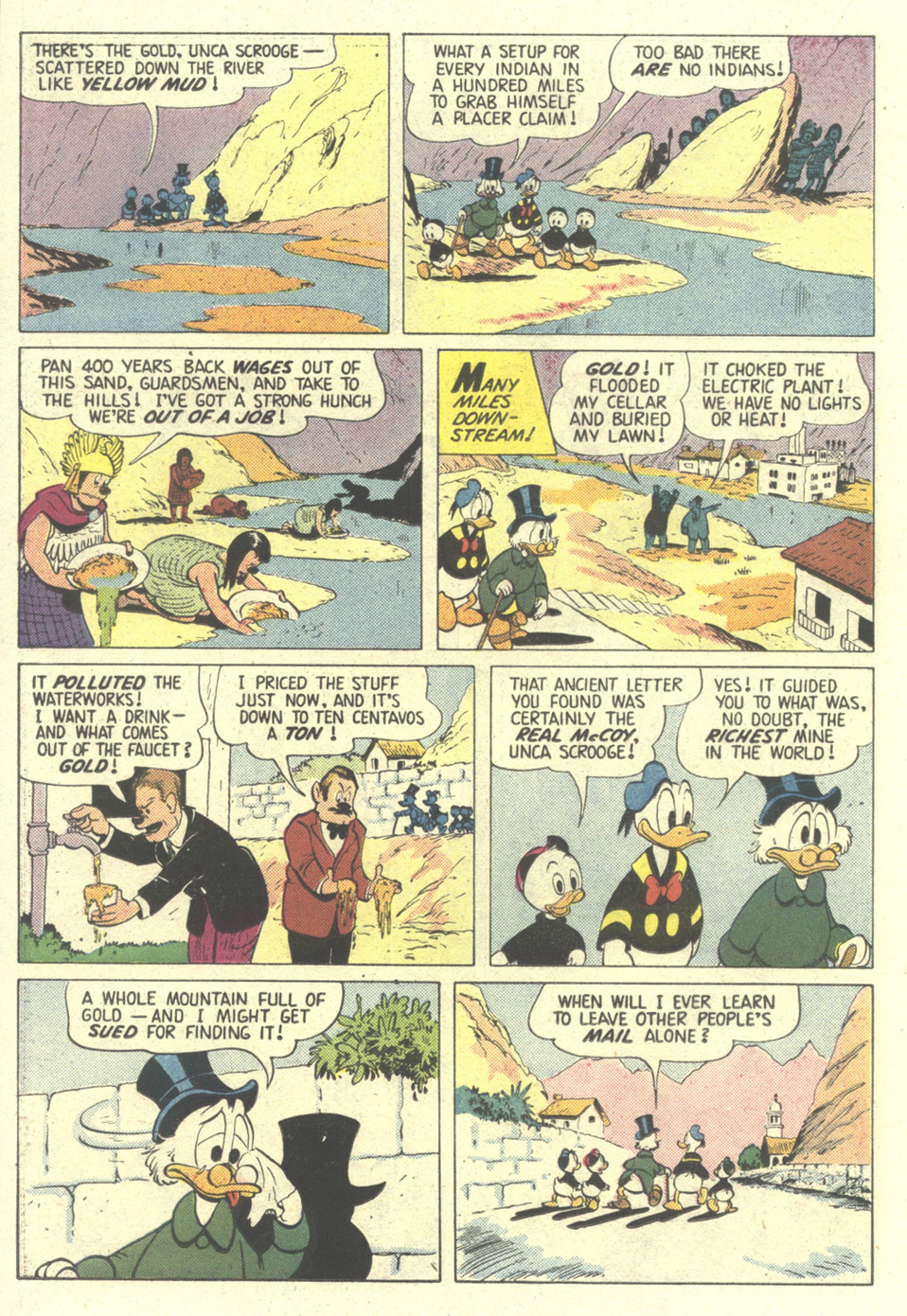 Read online Uncle Scrooge (1953) comic -  Issue #211 - 22