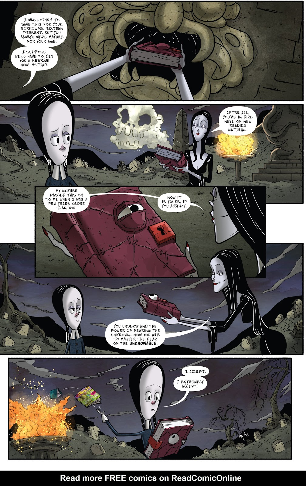 Read online Addams Family: The Bodies Issue comic -  Issue # Full - 24