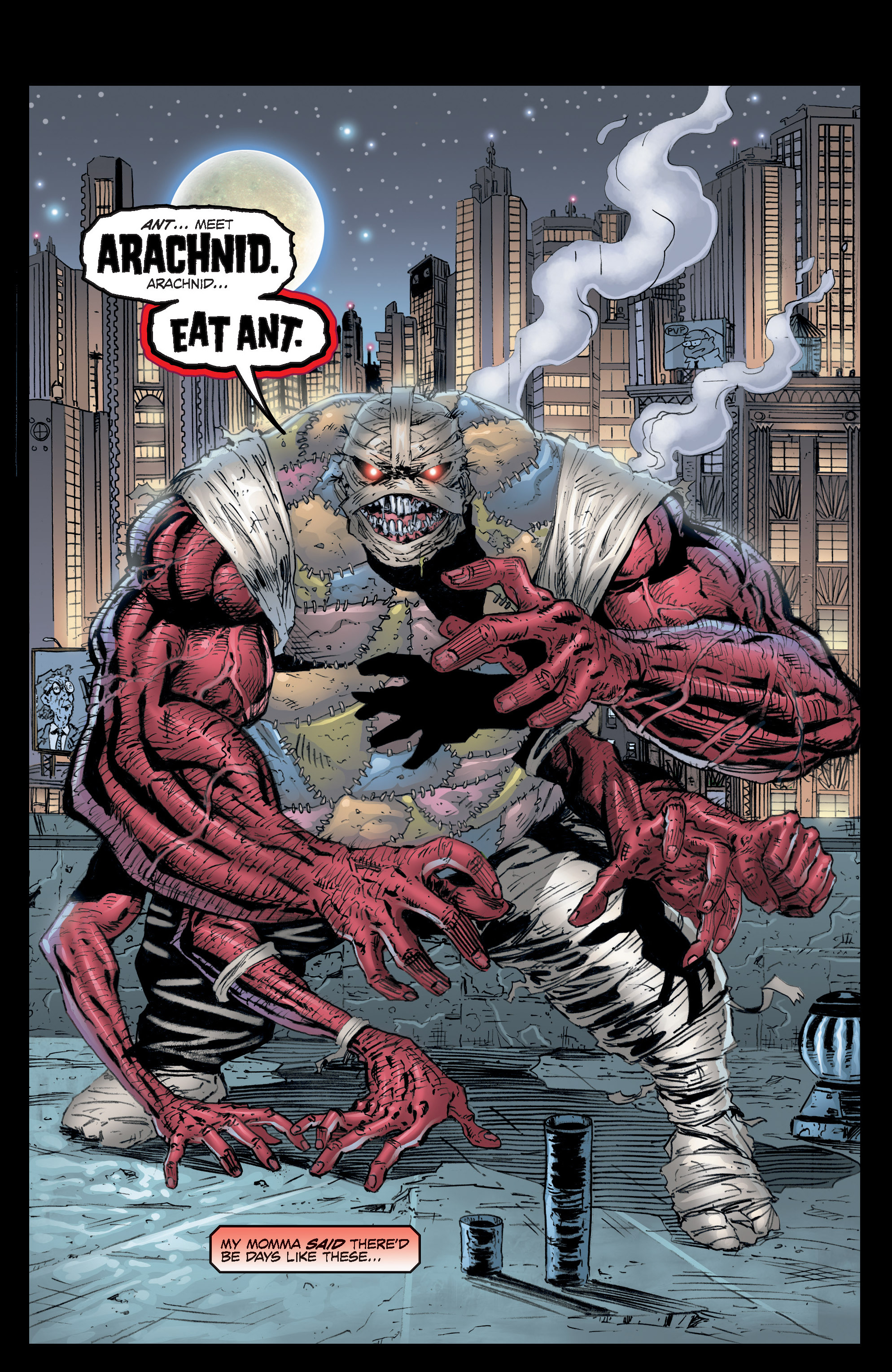 Read online Ant comic -  Issue #1 - 22