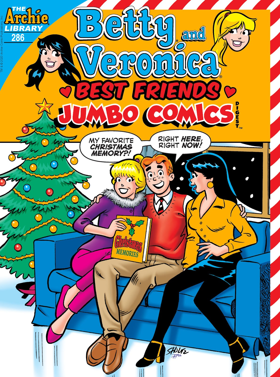 Betty and Veronica Double Digest 286 Page 1