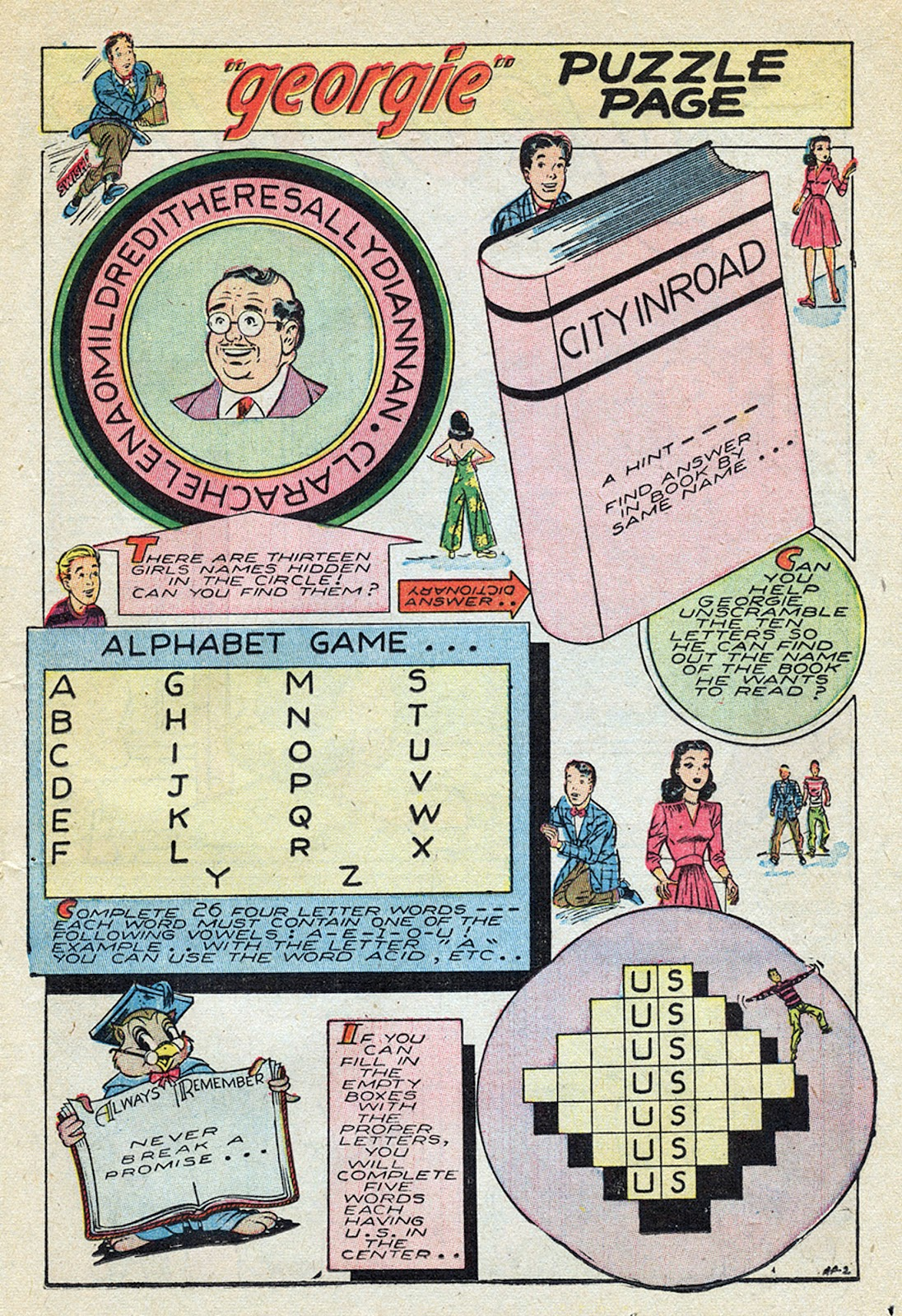 Georgie Comics (1945) issue 4 - Page 17