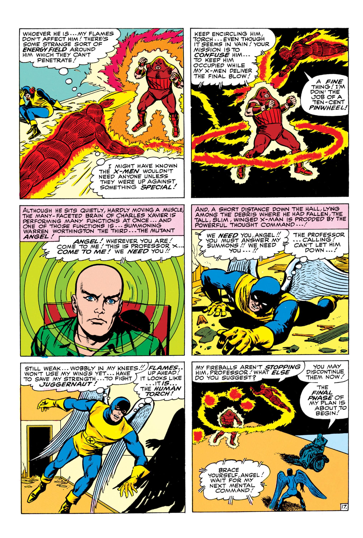 Read online Uncanny X-Men (1963) comic -  Issue #13 - 18