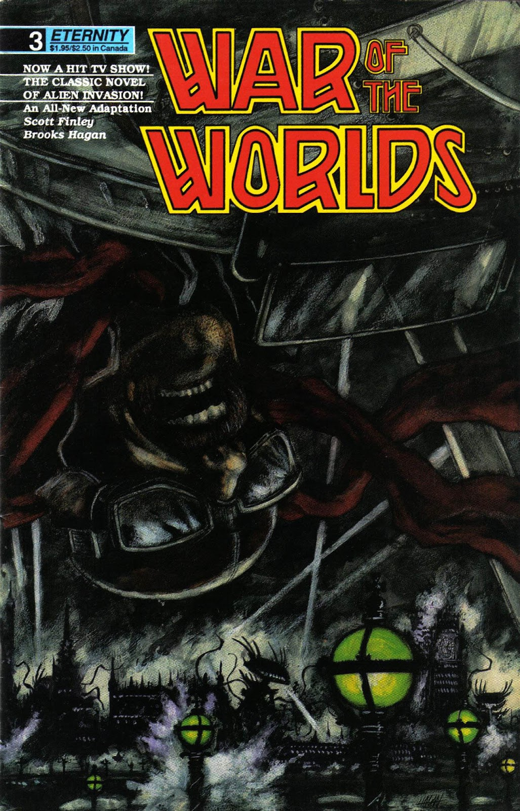 War of the Worlds issue 3 - Page 1