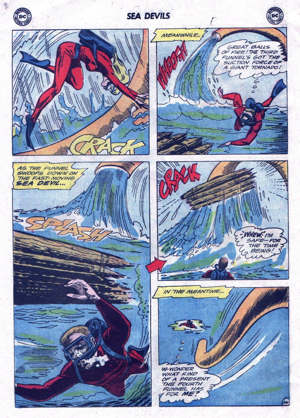 Read online Sea Devils comic -  Issue #21 - 28