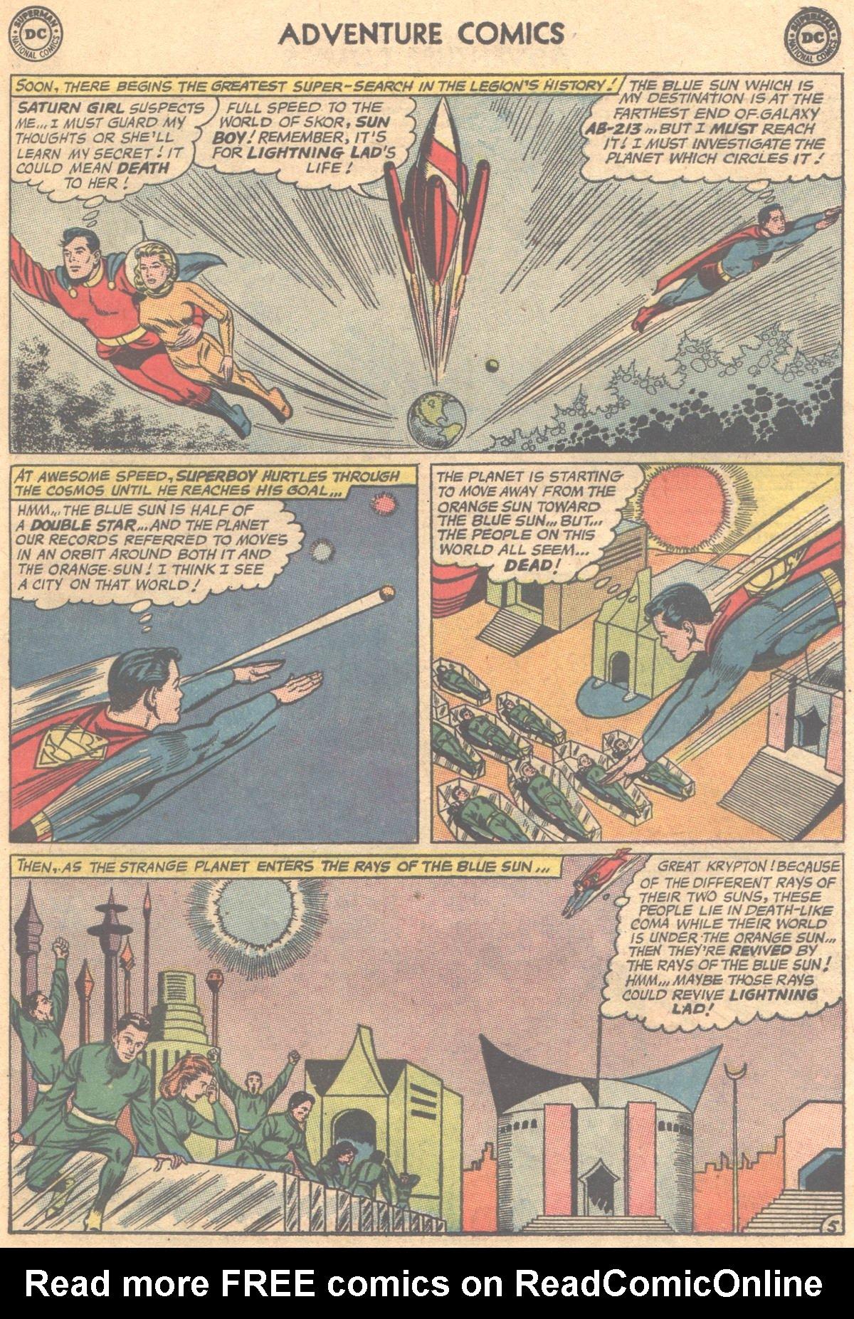 Read online Adventure Comics (1938) comic -  Issue #312 - 7