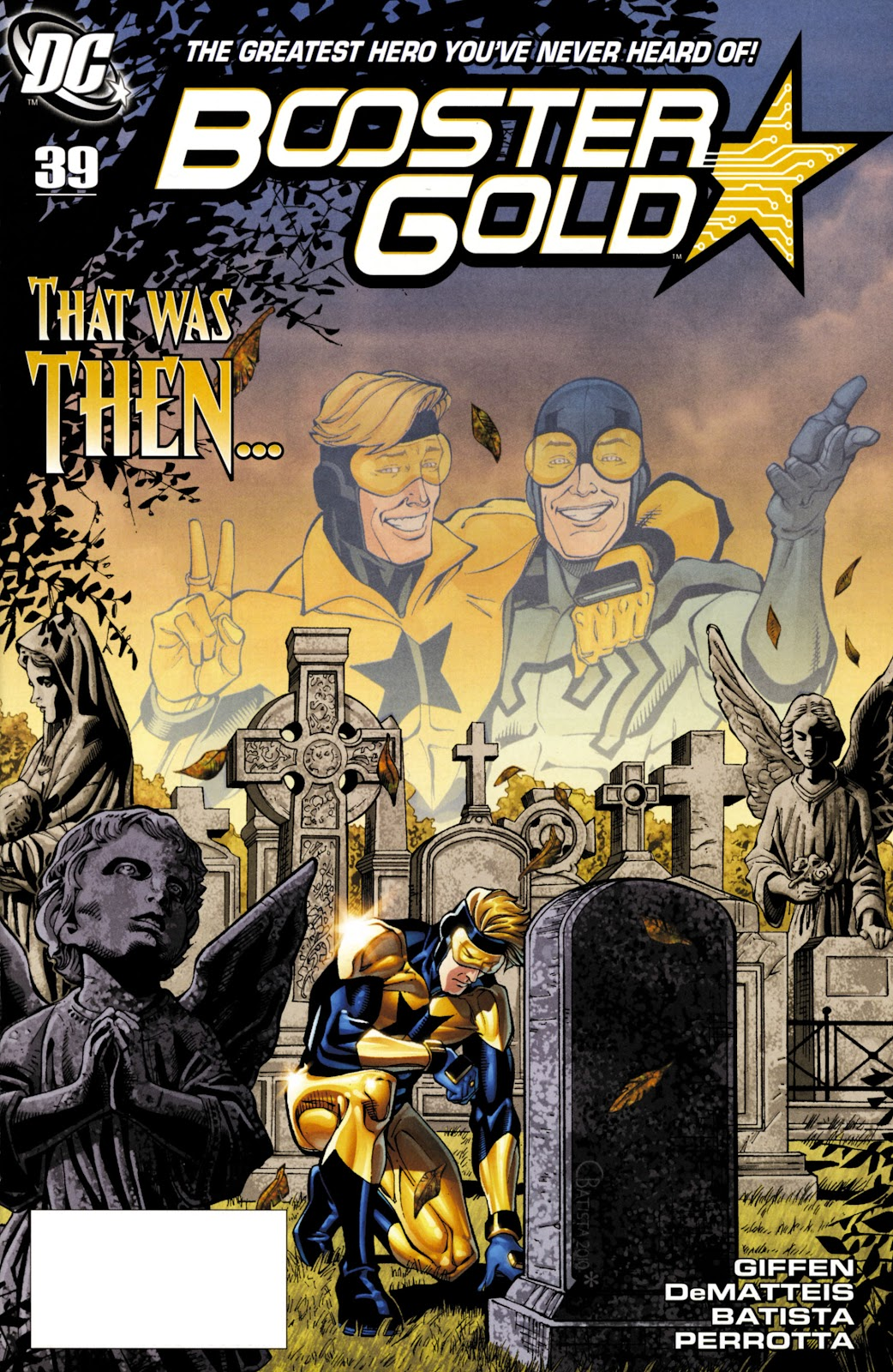 Booster Gold (2007) issue 39 - Page 1