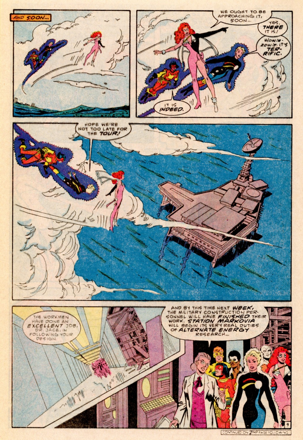 Read online Adventures of the Outsiders comic -  Issue #38 - 21