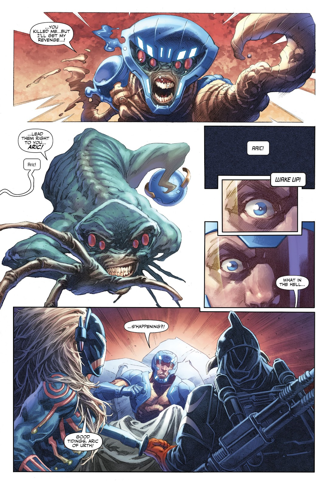 Read online X-O Manowar (2017) comic -  Issue #23 - 19