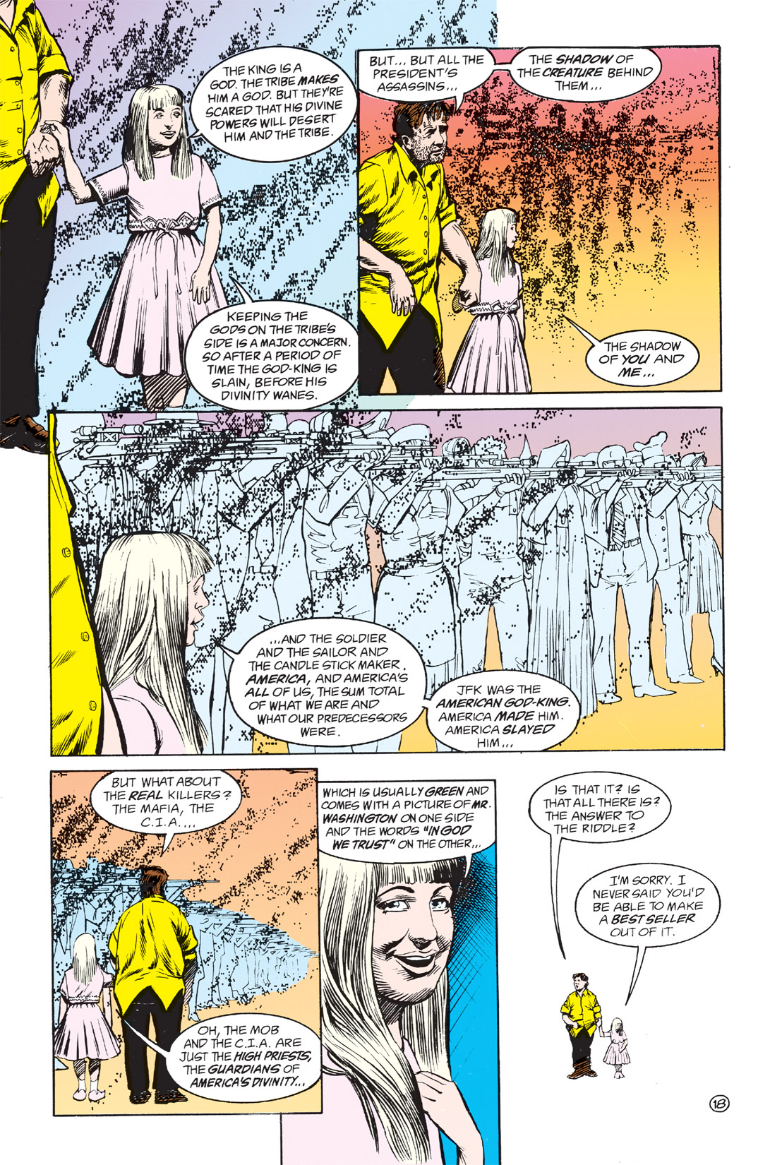 Read online Shade, the Changing Man comic -  Issue #3 - 20