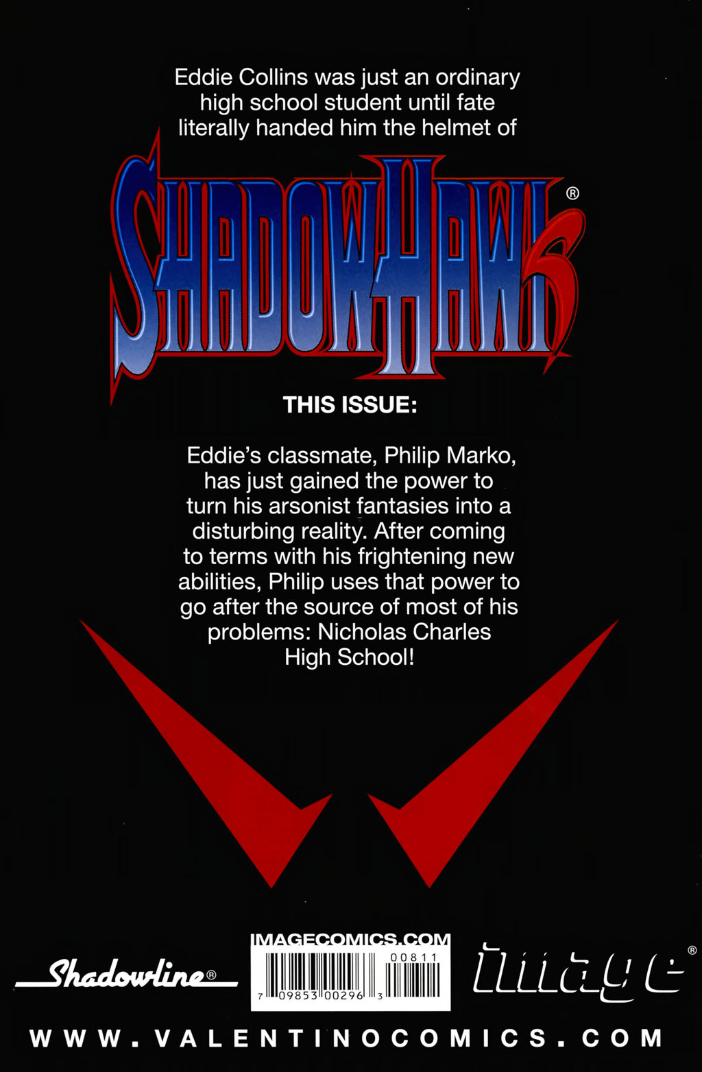 Read online ShadowHawk (2005) comic -  Issue #8 - 29
