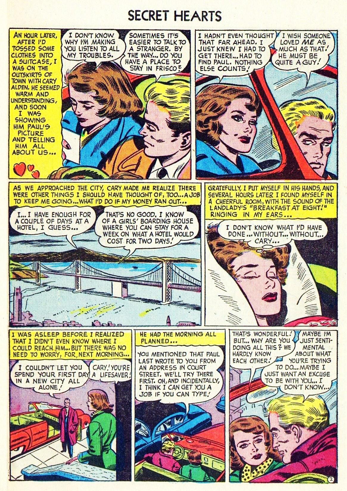 Read online Secret Hearts comic -  Issue #15 - 18