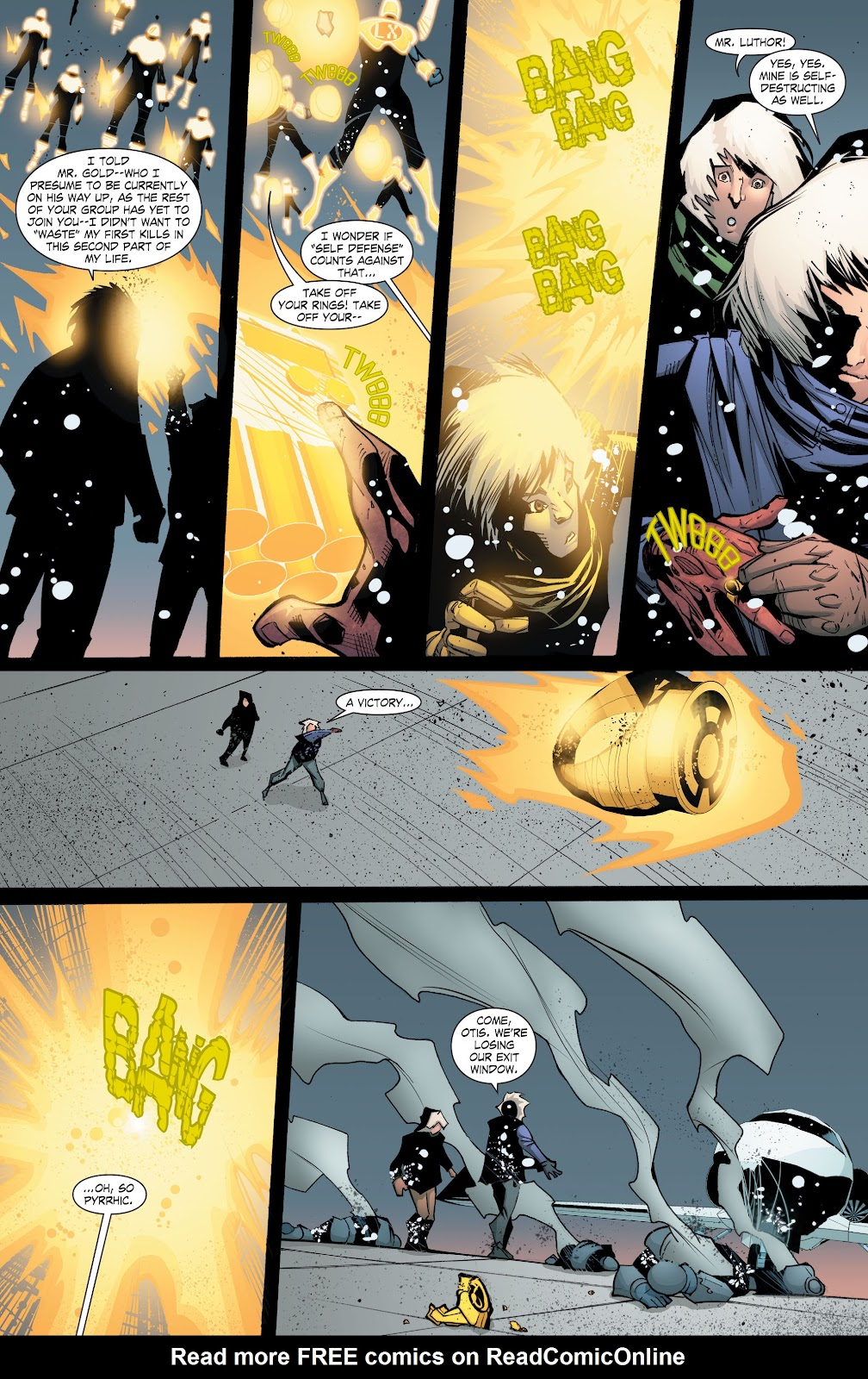 Read online Smallville Season 11 [II] comic -  Issue # TPB 8 - 171