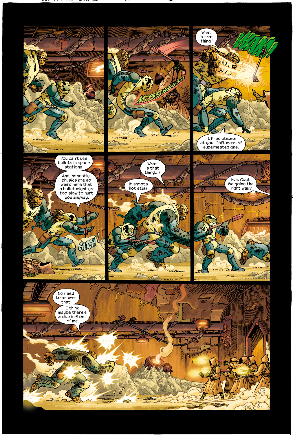 Read online Ultimate Fantastic Four (2004) comic -  Issue #17 - 13