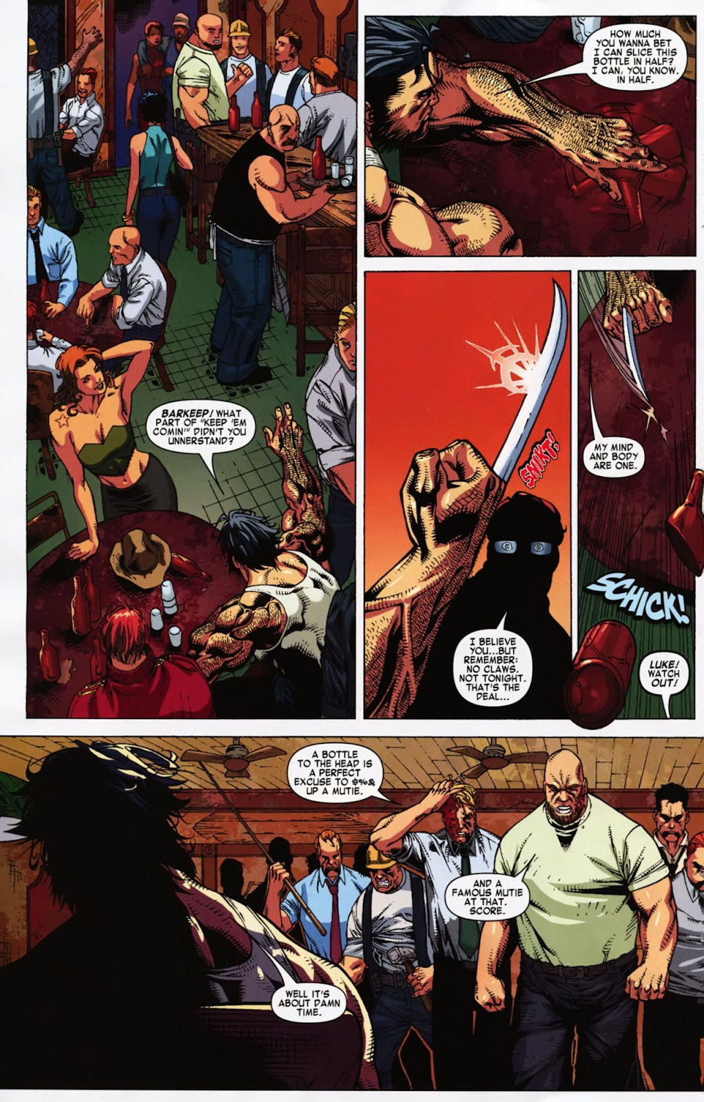 Read online Wolverine (2003) comic -  Issue #900 - 51