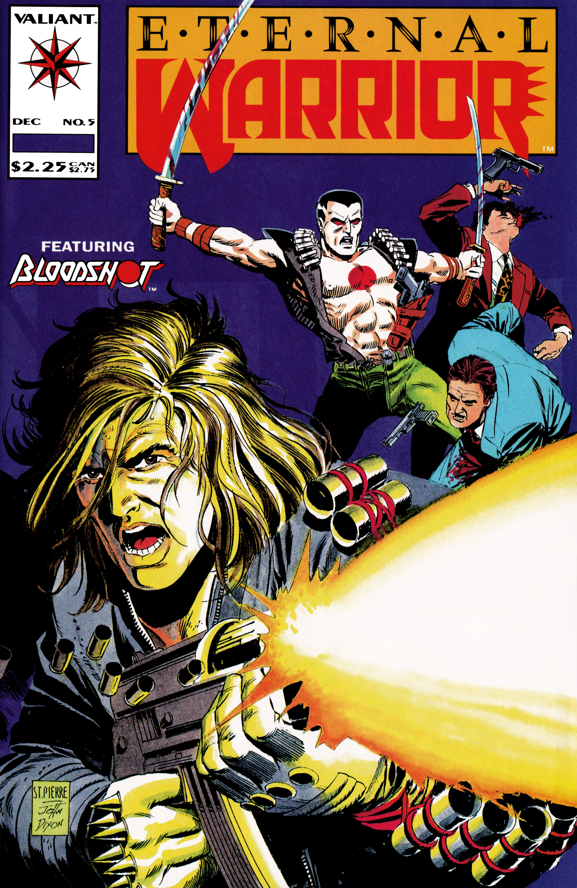 Read online Eternal Warrior (1992) comic -  Issue #5 - 1