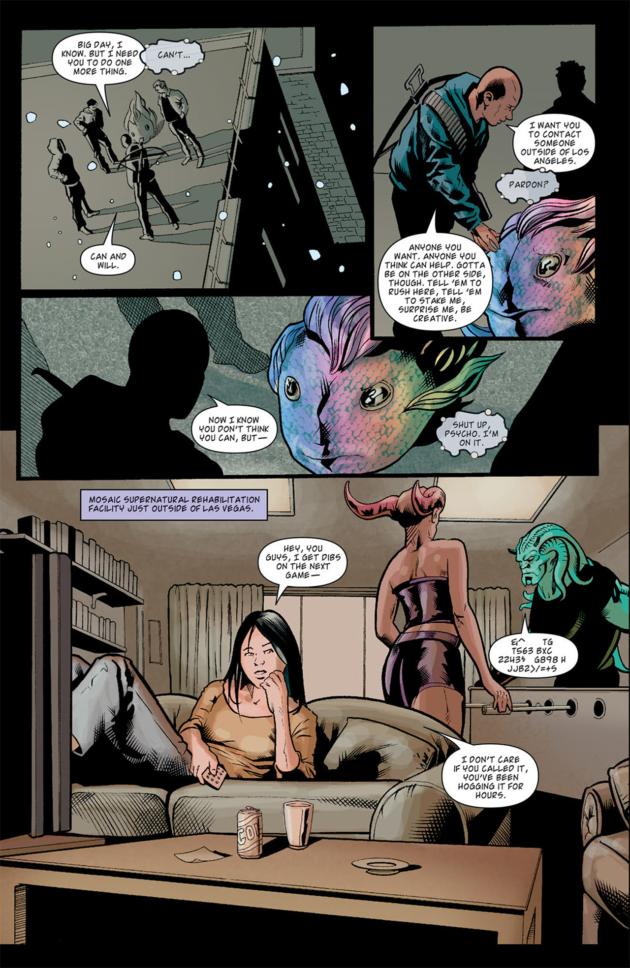 Read online Angel: After The Fall comic -  Issue #10 - 21