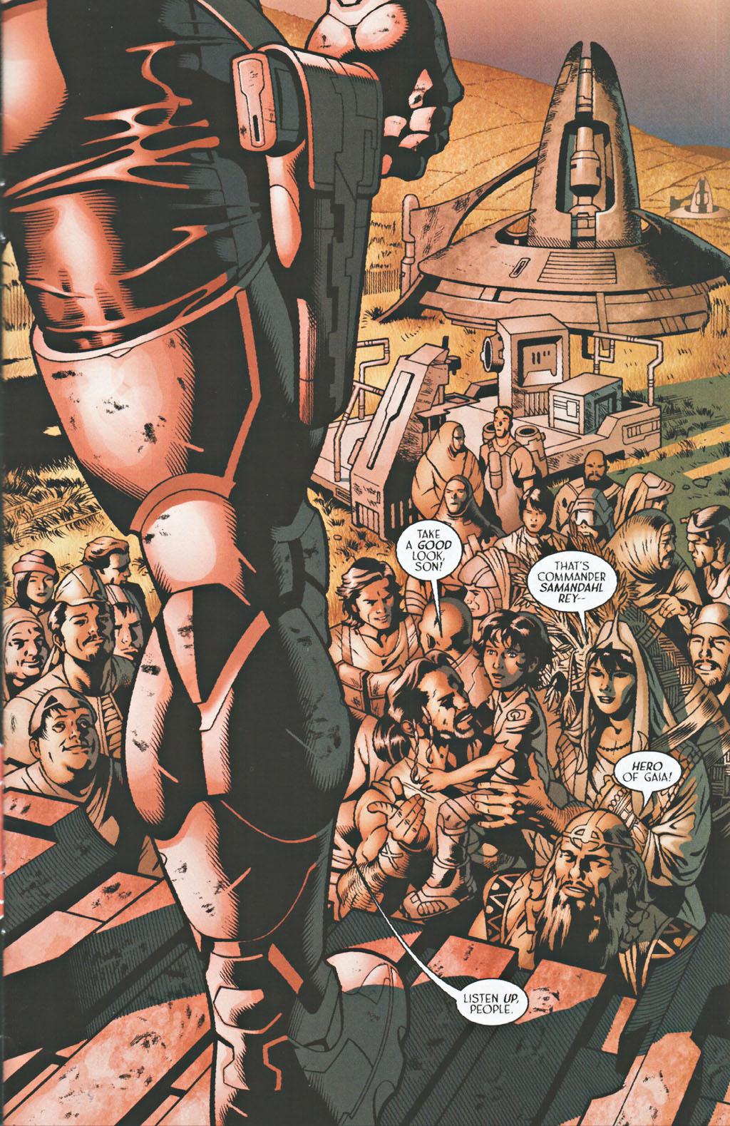 Read online Sigil (2000) comic -  Issue #41 - 3