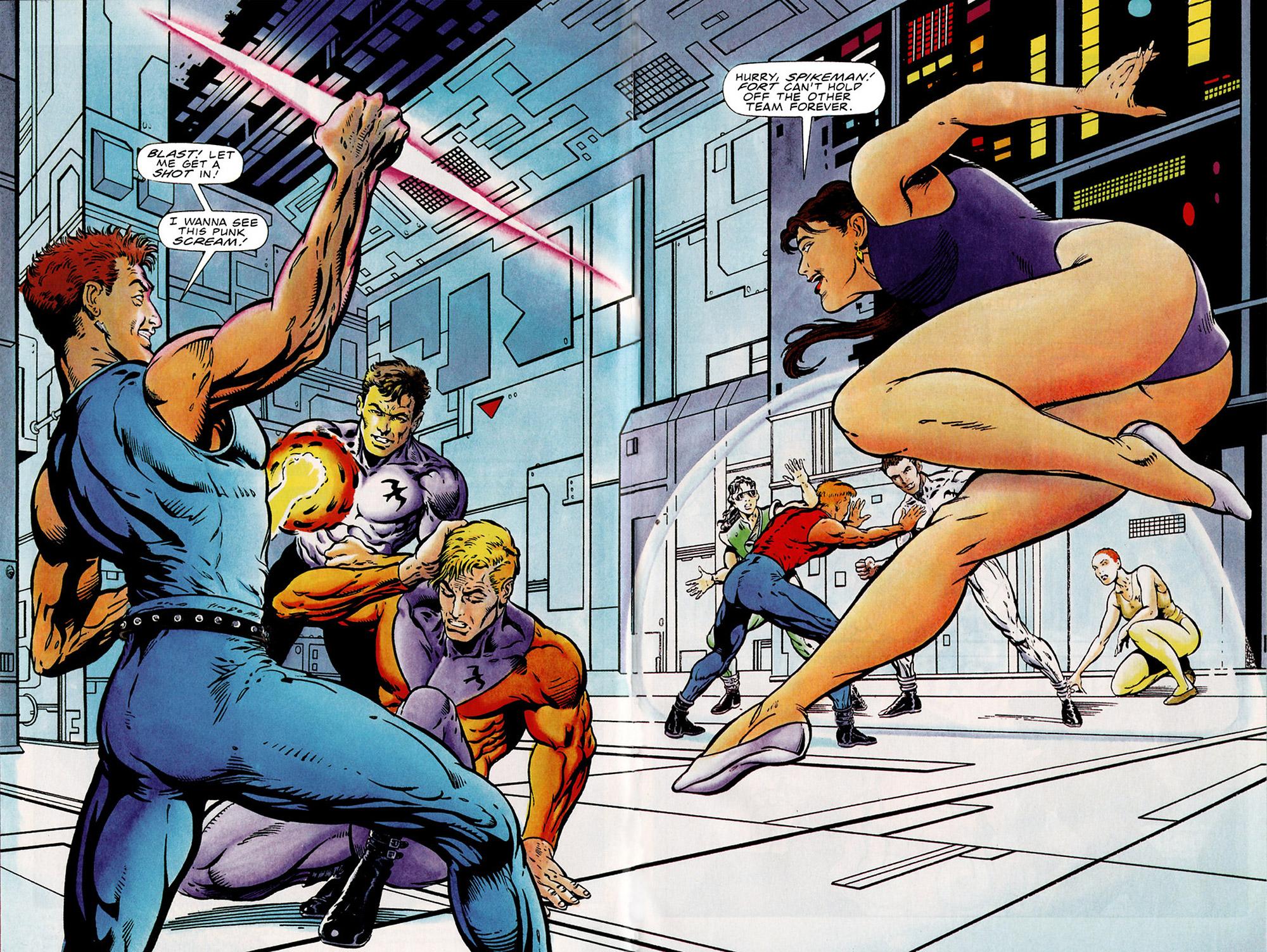 Read online Harbinger (1992) comic -  Issue #15 - 5