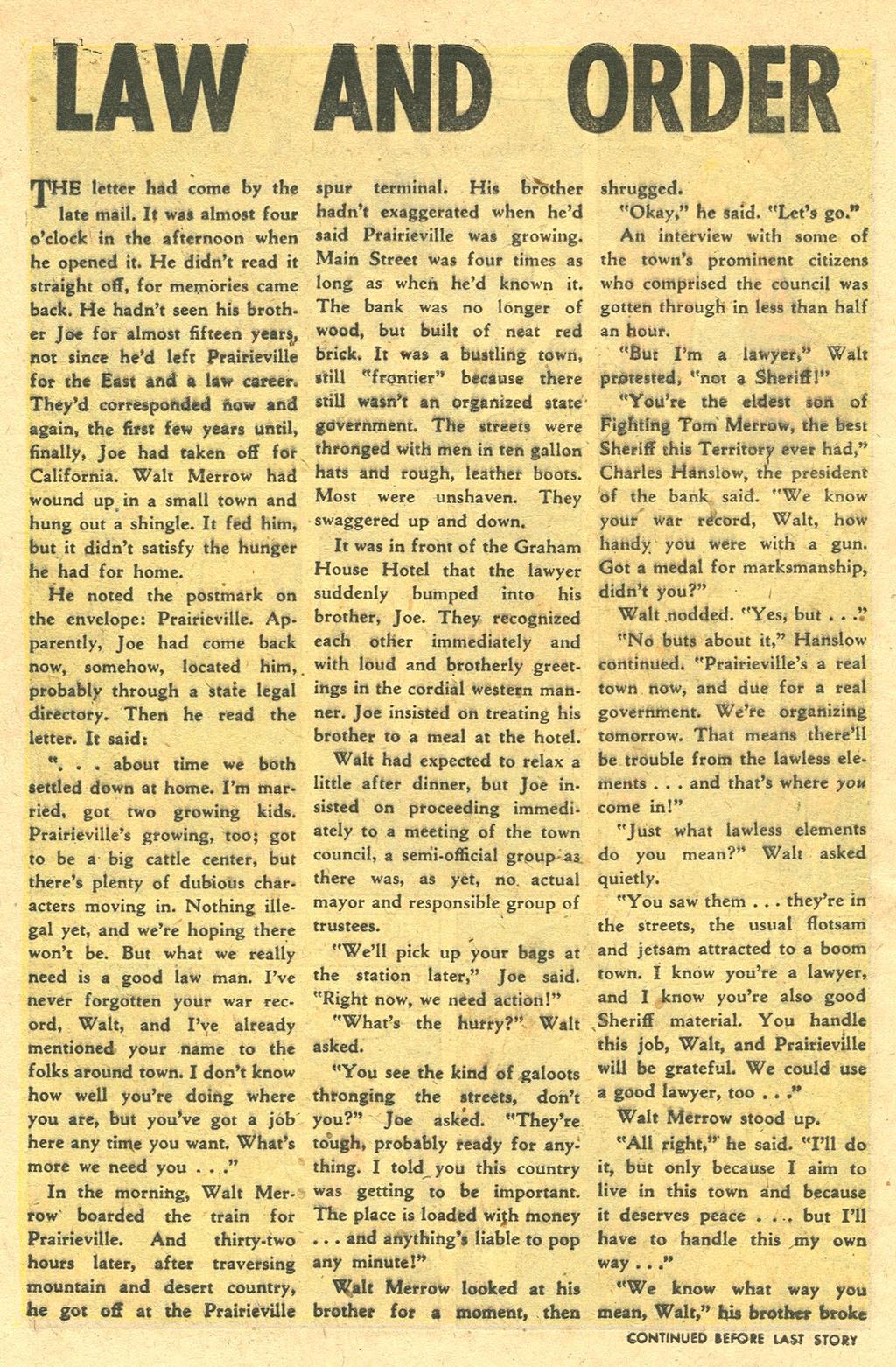 Gunsmoke Western issue 33 - Page 9