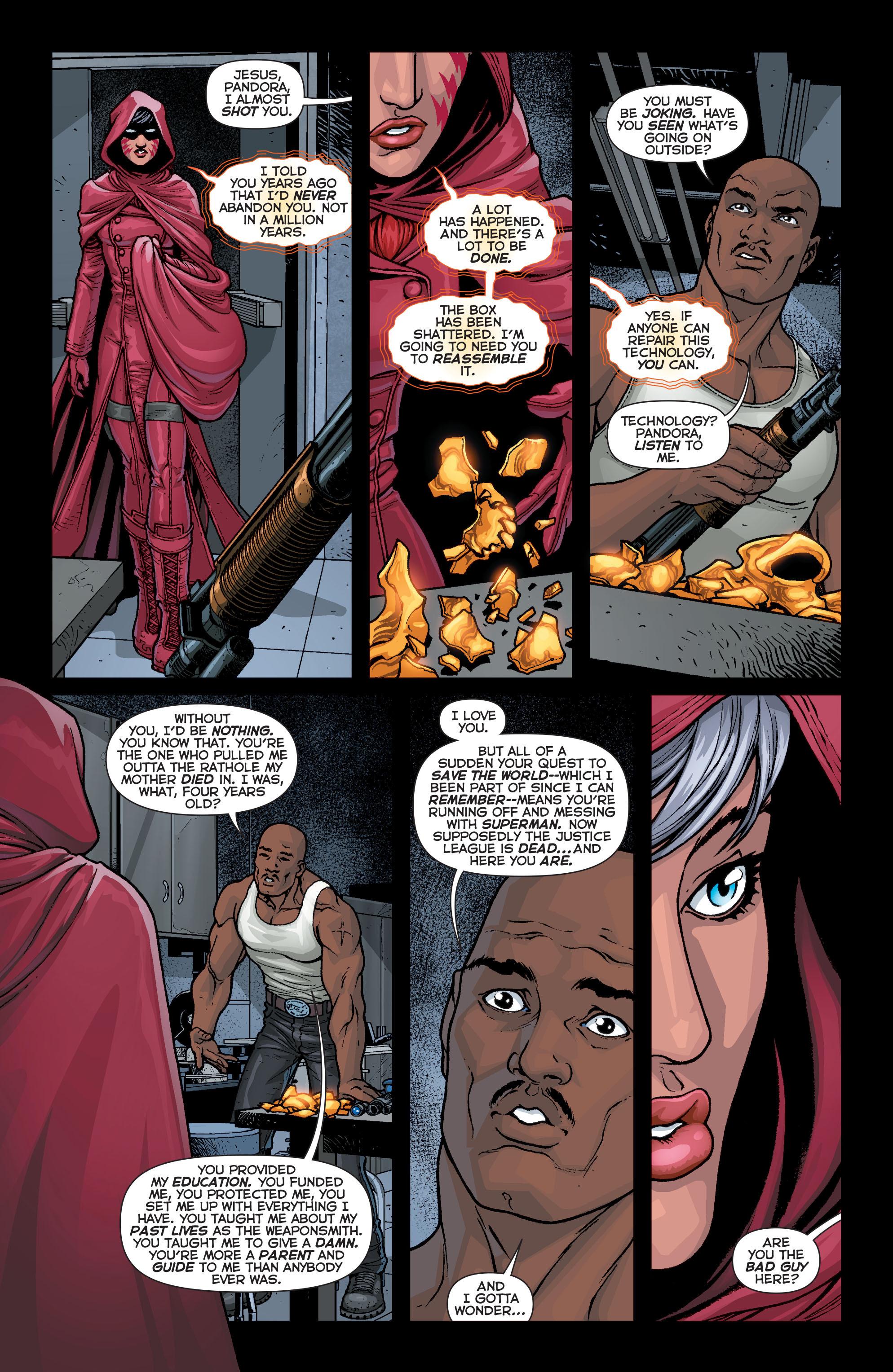 Read online Trinity of Sin: Pandora comic -  Issue #4 - 9