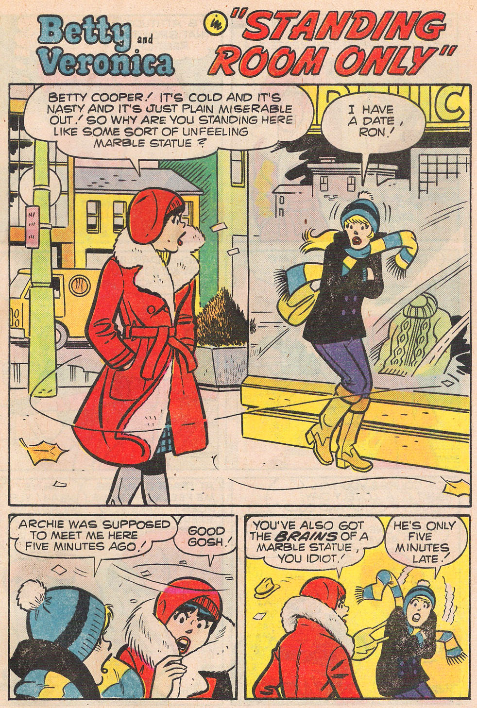 Read online Archie's Girls Betty and Veronica comic -  Issue #257 - 29