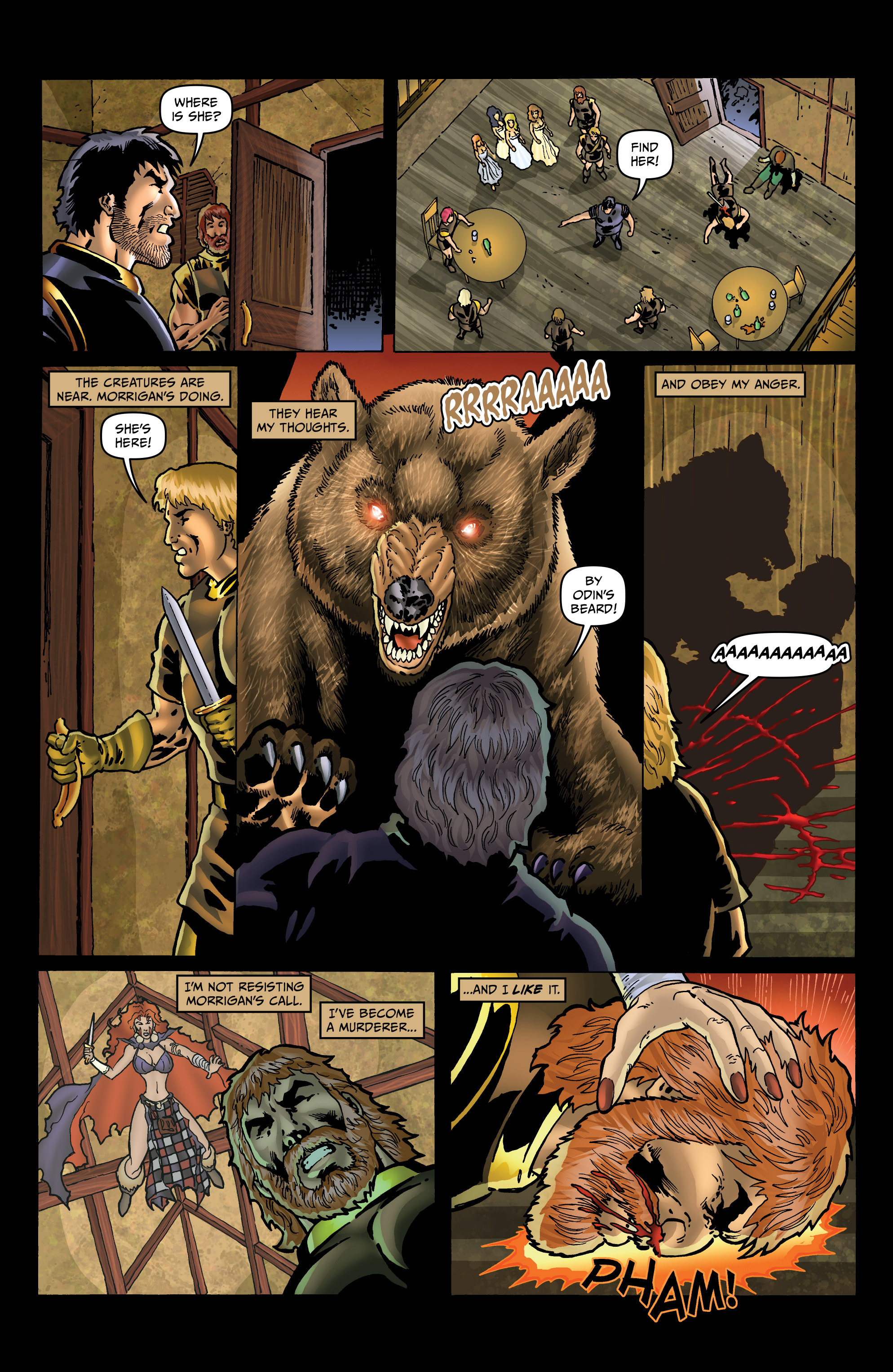 Read online Belladonna: Origins comic -  Issue #4 - 8