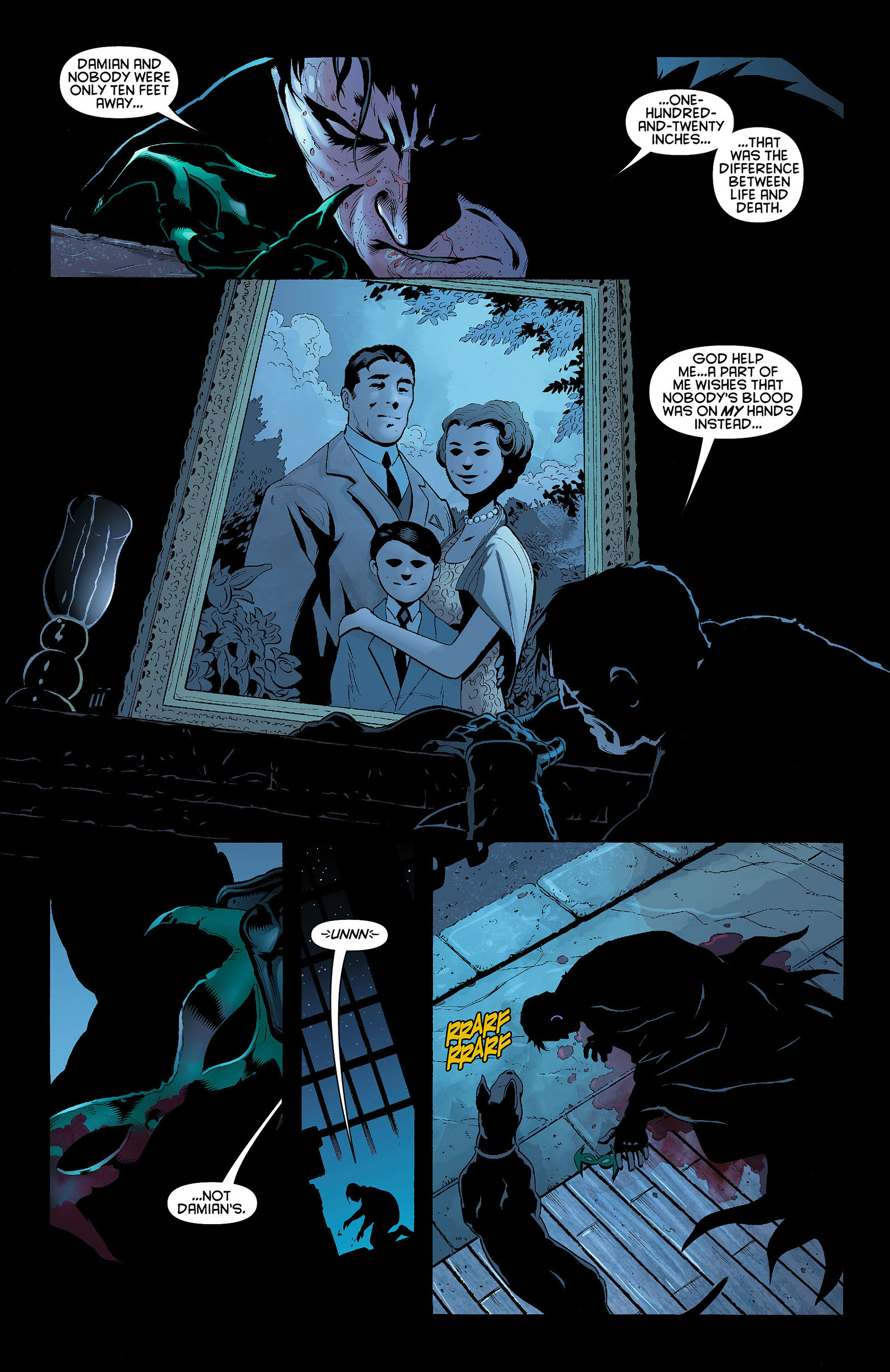 Read online Batman and Robin (2011) comic -  Issue #8 - 10