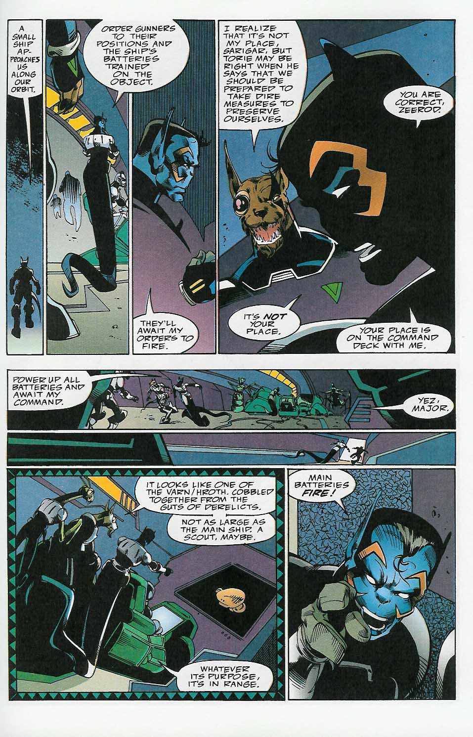 Alien Legion: On the Edge issue 2 - Page 14