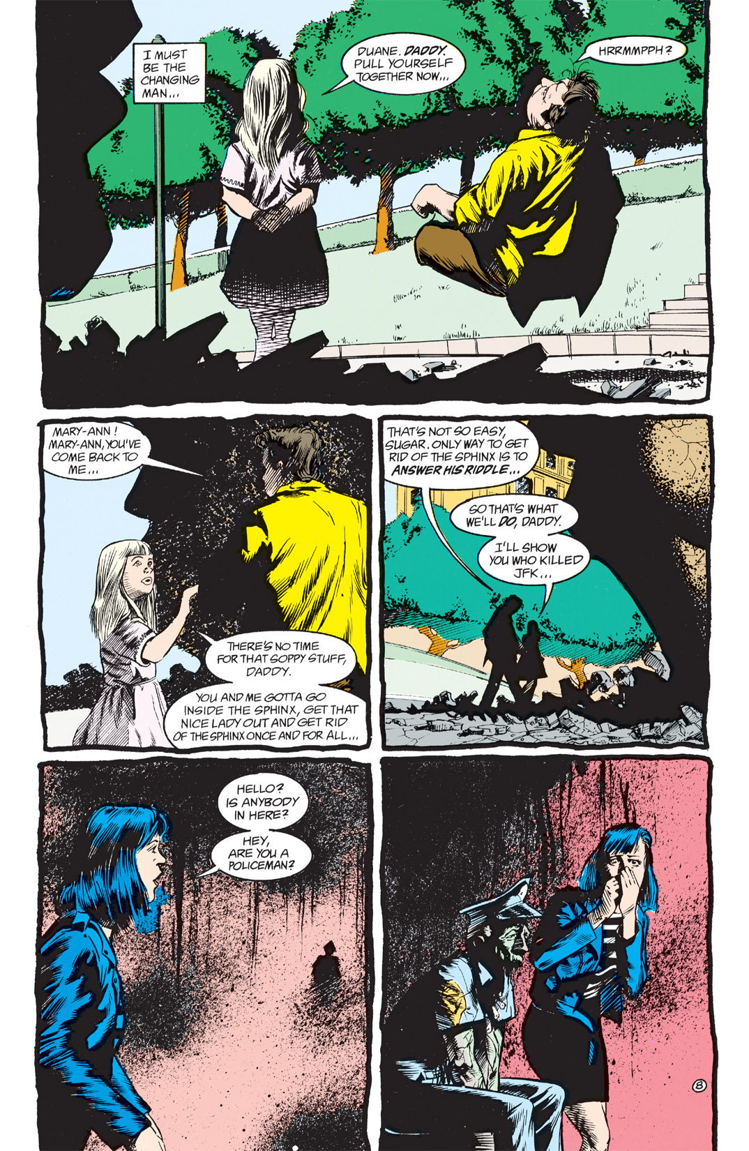 Read online Shade, the Changing Man comic -  Issue #3 - 10