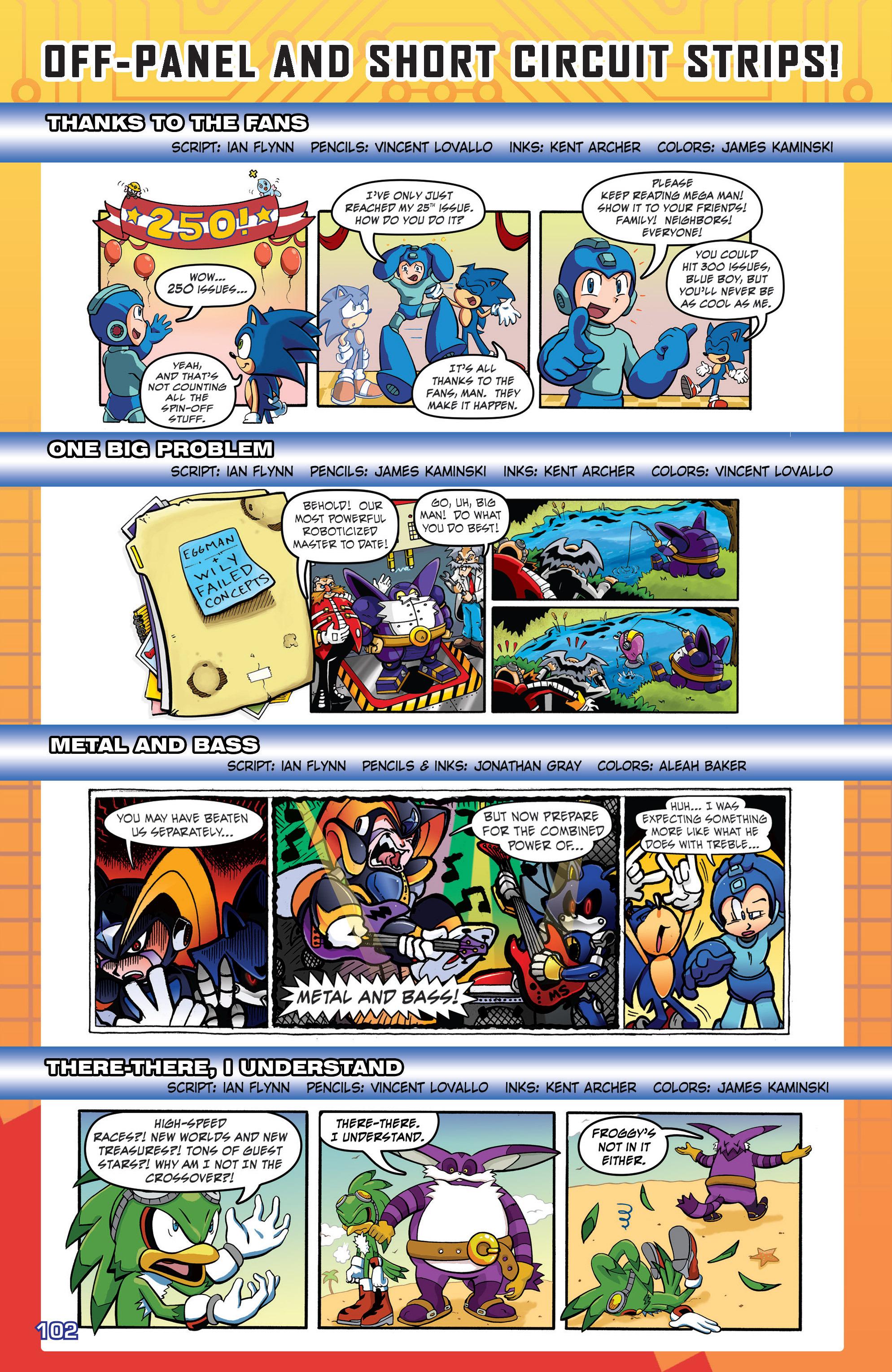 Read online Sonic Mega Man Worlds Collide comic -  Issue # Vol 3 - 121