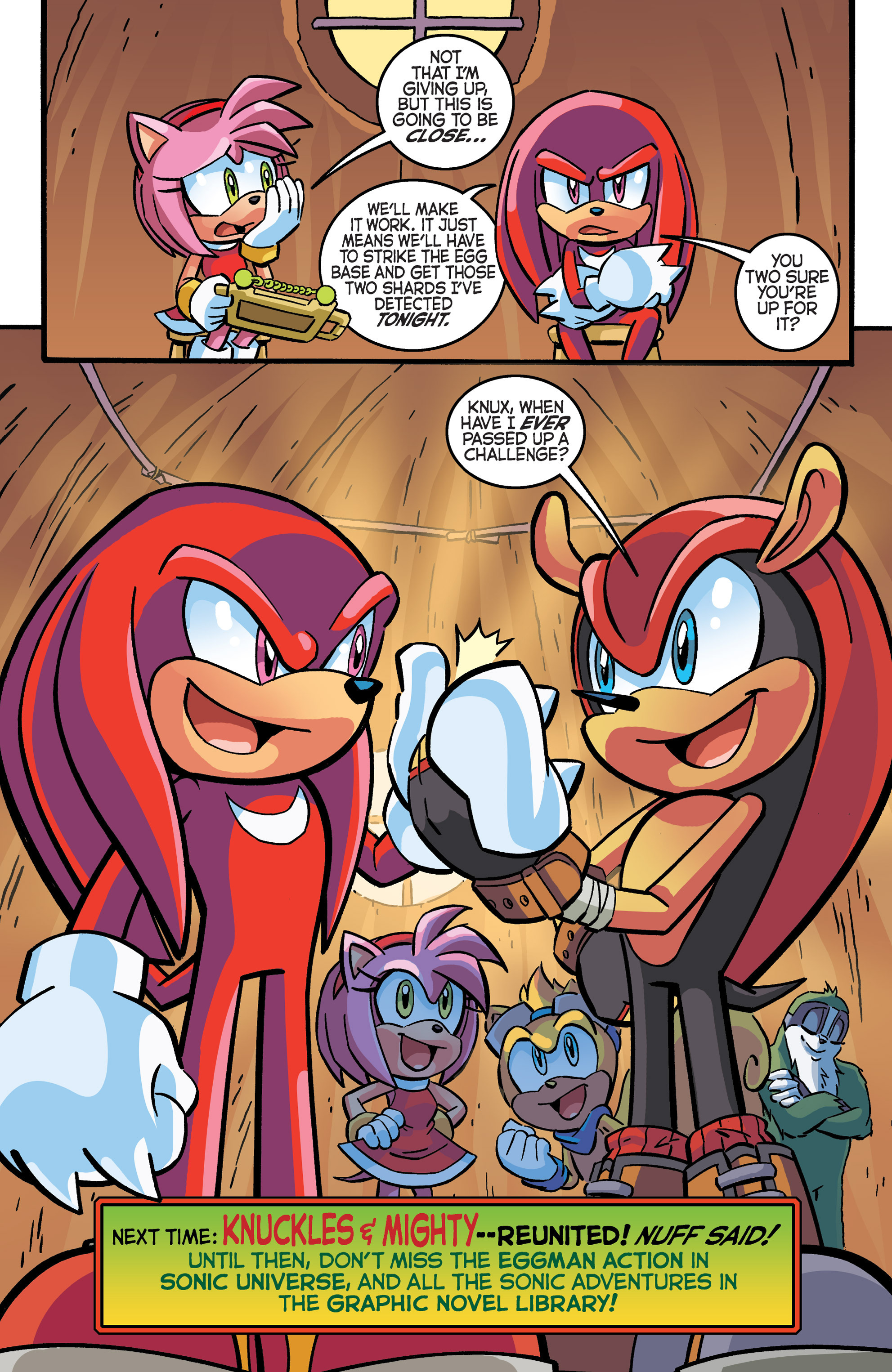 Read online Sonic The Hedgehog comic -  Issue #281 - 21