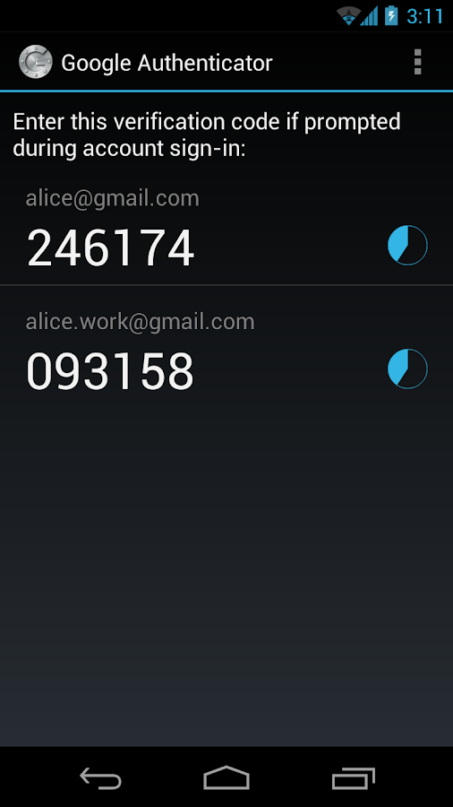 Login Google 2-Step Verification Pada Dua Ponsel Android