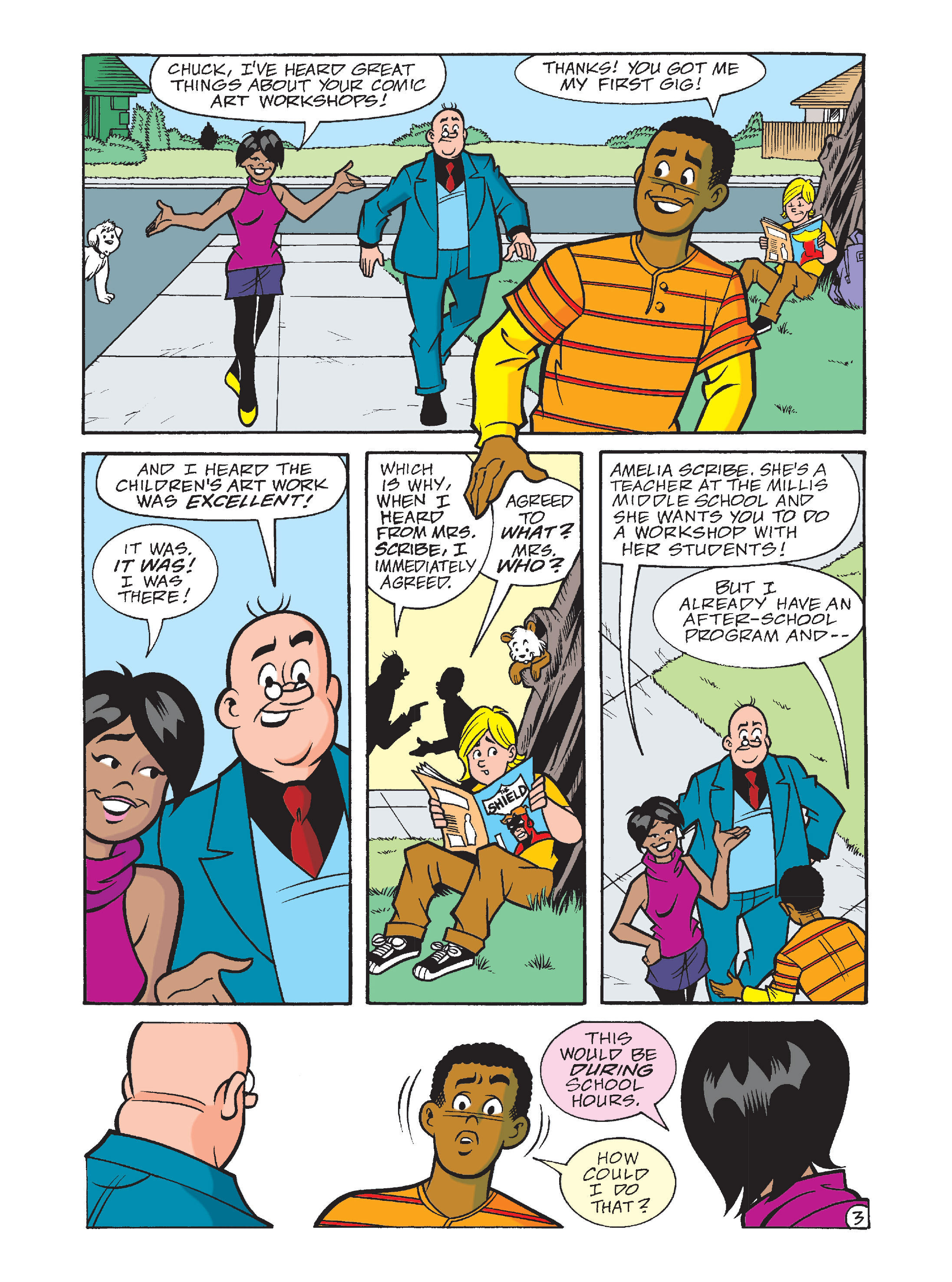 Read online Archie's Funhouse Double Digest comic -  Issue #10 - 38