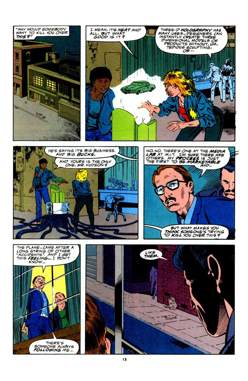 Read online Powerline comic -  Issue #4 - 15