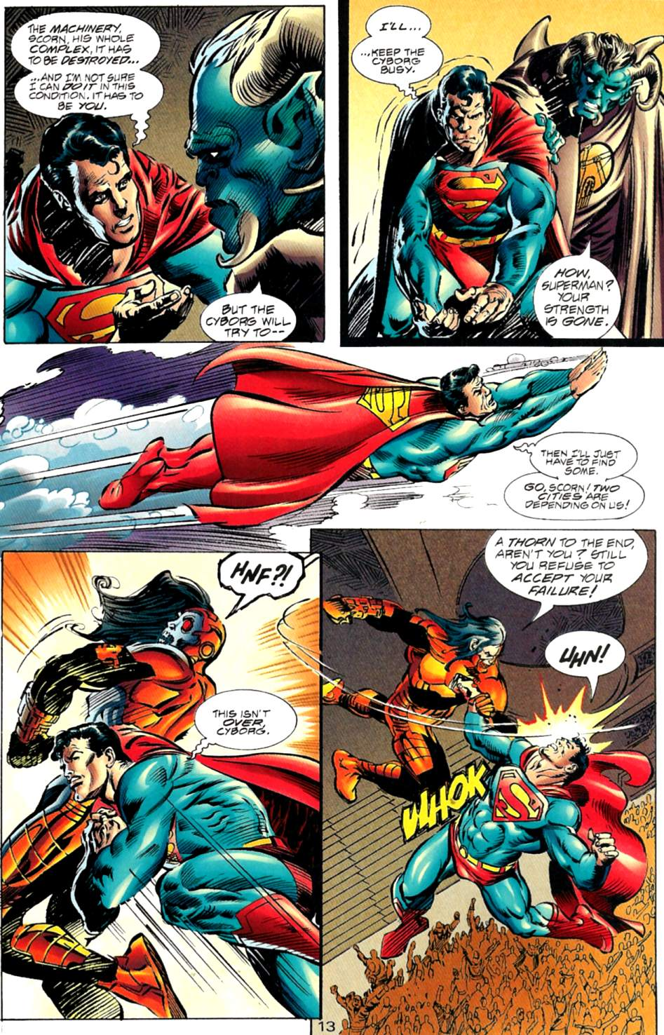 Read online Adventures of Superman (1987) comic -  Issue #563 - 14